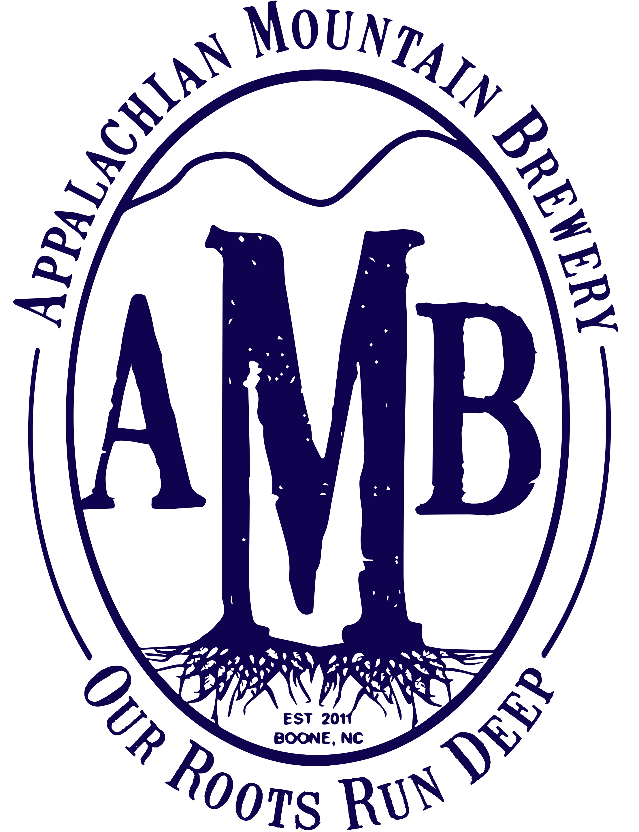 amb new logo roots run deep