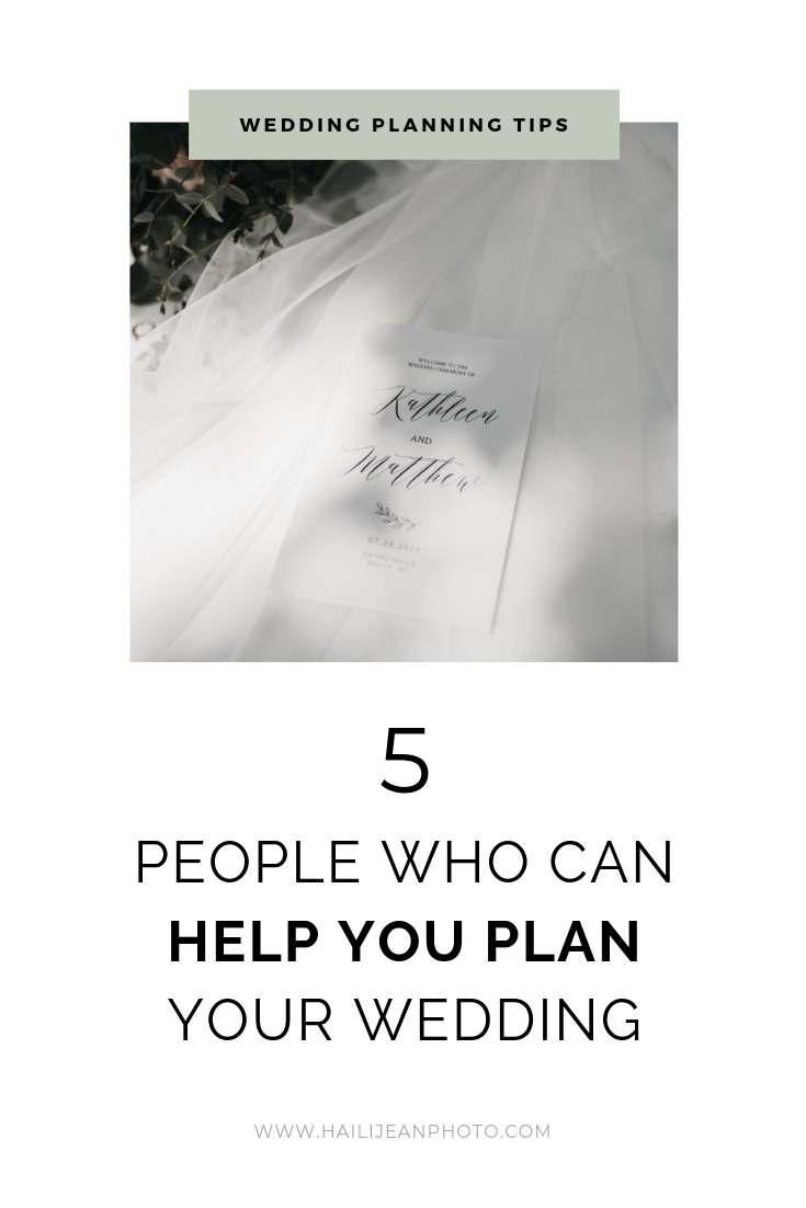 5 People Who Can Help You Plan Your Wedding | Haili Jean Photography