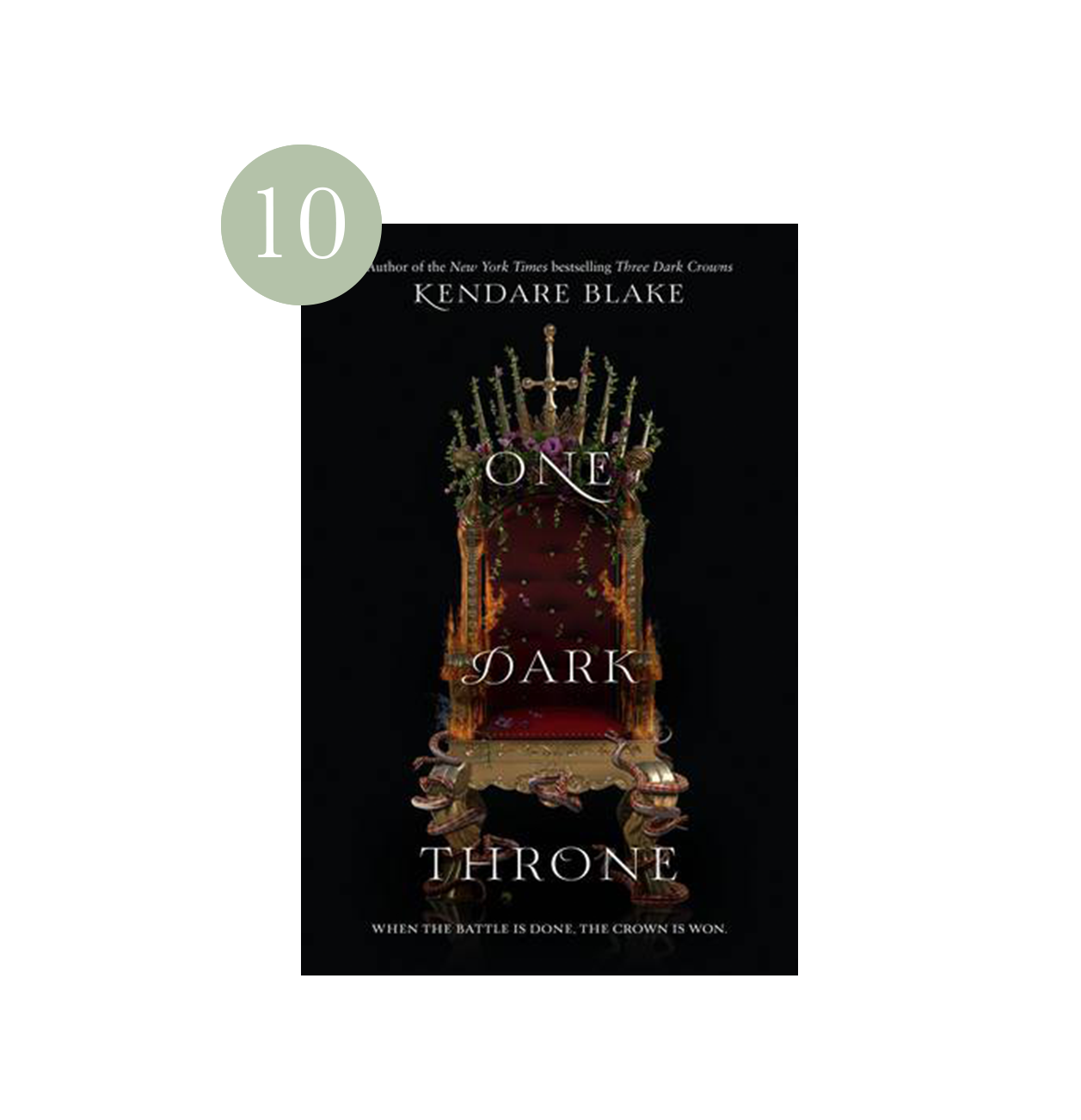 One Dark Throne | Haili's 2019 Summer Reading List