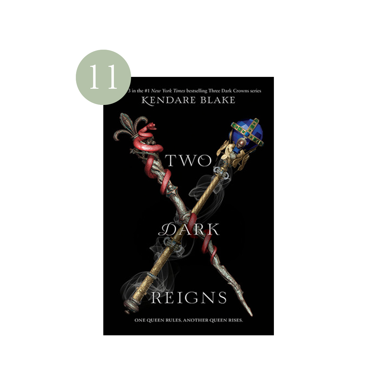 Two Dark Reigns | Haili's 2019 Summer Reading List