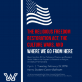 Wilkes Lectures - Date: February 27, 2018CHILD USA CEO and Founder, Marci Hamilton, was featured in a successful discussion on RFRA and interesting social and constitutional issues.