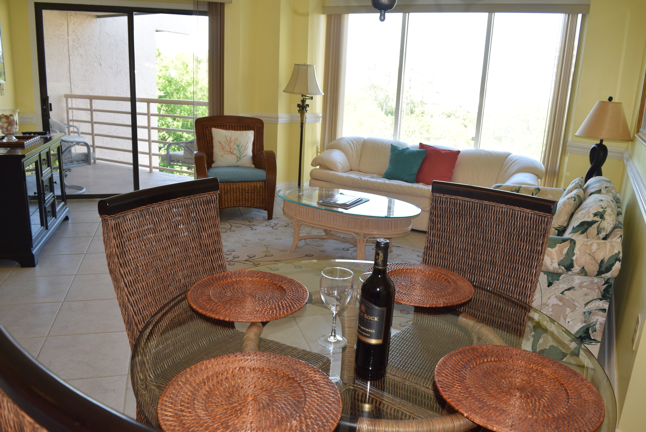 """Palmetto Dunes Resort     Penthouse condo in Palmetto Dunes, just steps to the ocean. 2 bedrooms, 2 full baths, fully equipped Kitchen with washer & dryer. Entire Condo has been painted with fresh Carribbean colors, new chair rail, all new doors, bedding, 58"""" smart TV in living room, 43"""" Smart TV in guest room, new carpet in bedrooms and more. Oceanfront pool, hot tub, grilling area & indoor pool, hot tub, sauna & gym. Great Rentals. (April 2017-Dec 2017 $28,176. 27,000 on books to date) Bright & Sunny! $489,000"""