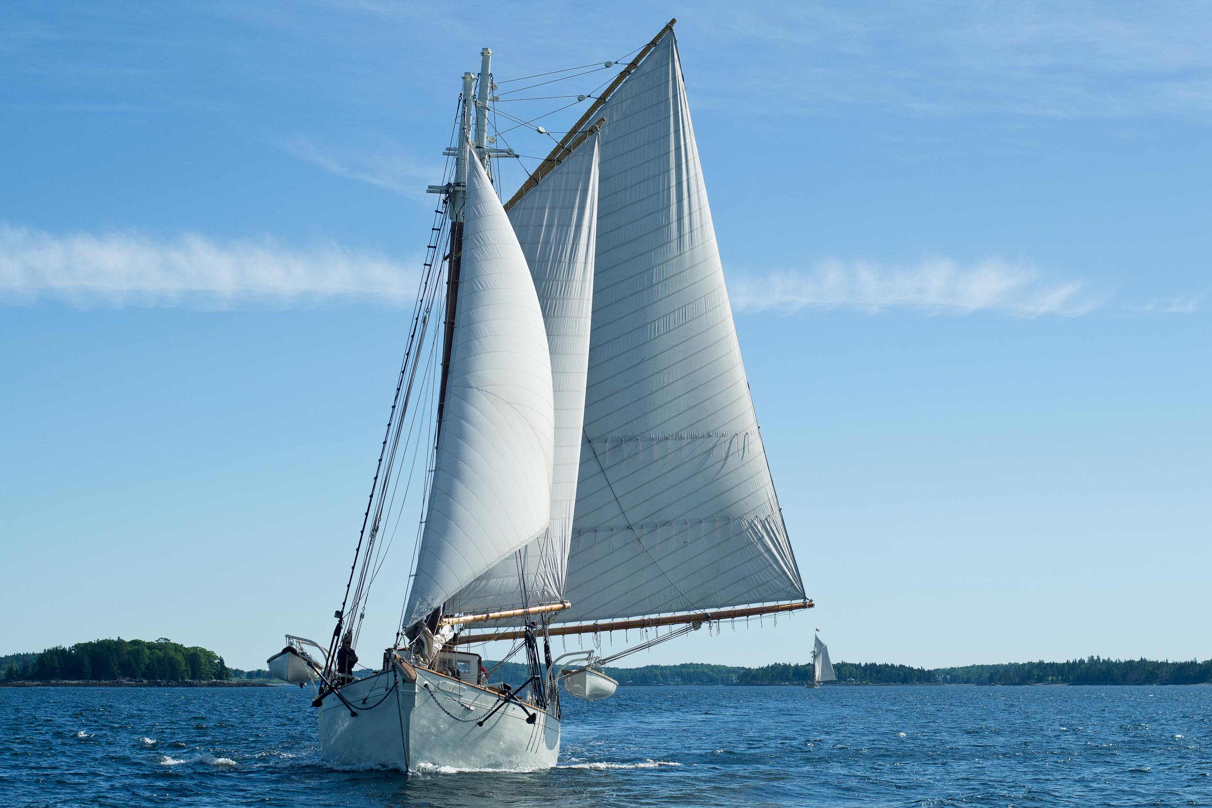 In the 1923 Bermuda Cup,  Ladona  proved her mettle as an ocean racer when she took first place in her class.