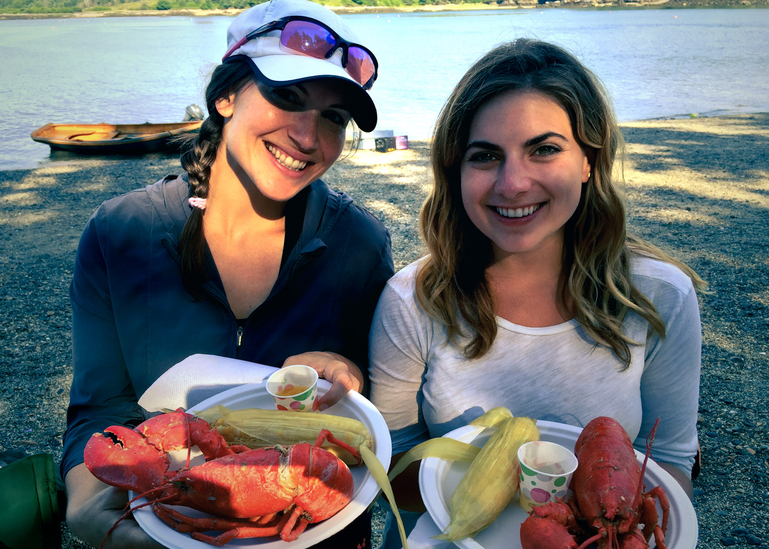 It's an all-you-can-eat lobster feast, so don't be shy!