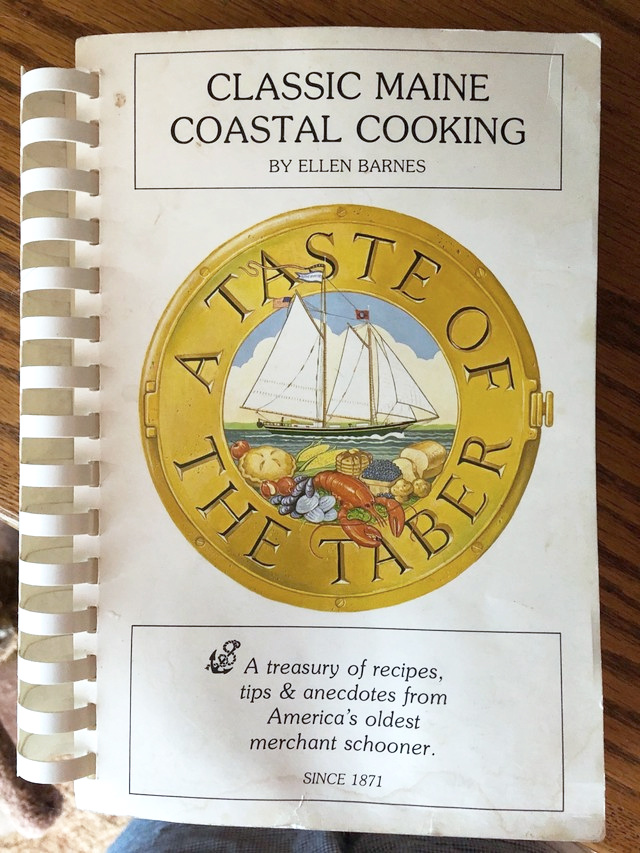 "The cookbook that started it all, ""A Taste of the Taber"". Photo: Laura Narhi"