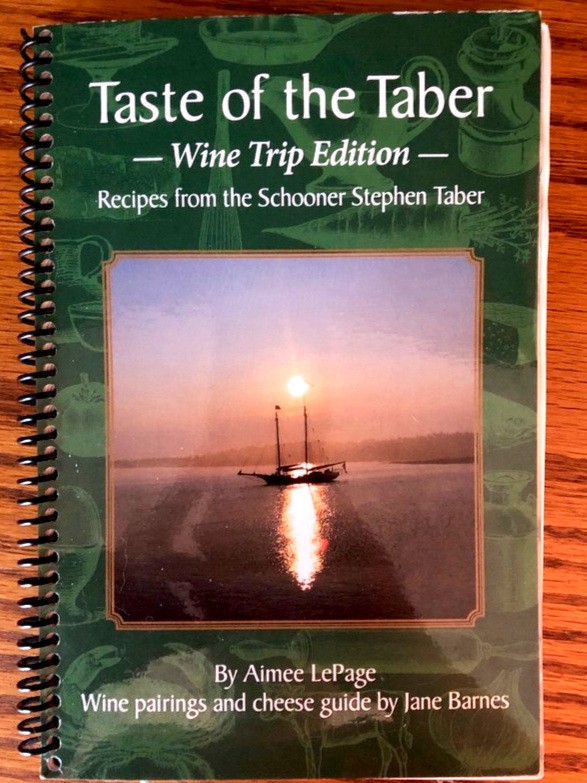 The second collection of recipes came with wine pairings and a cheese guide. Photo: Laura Narhi