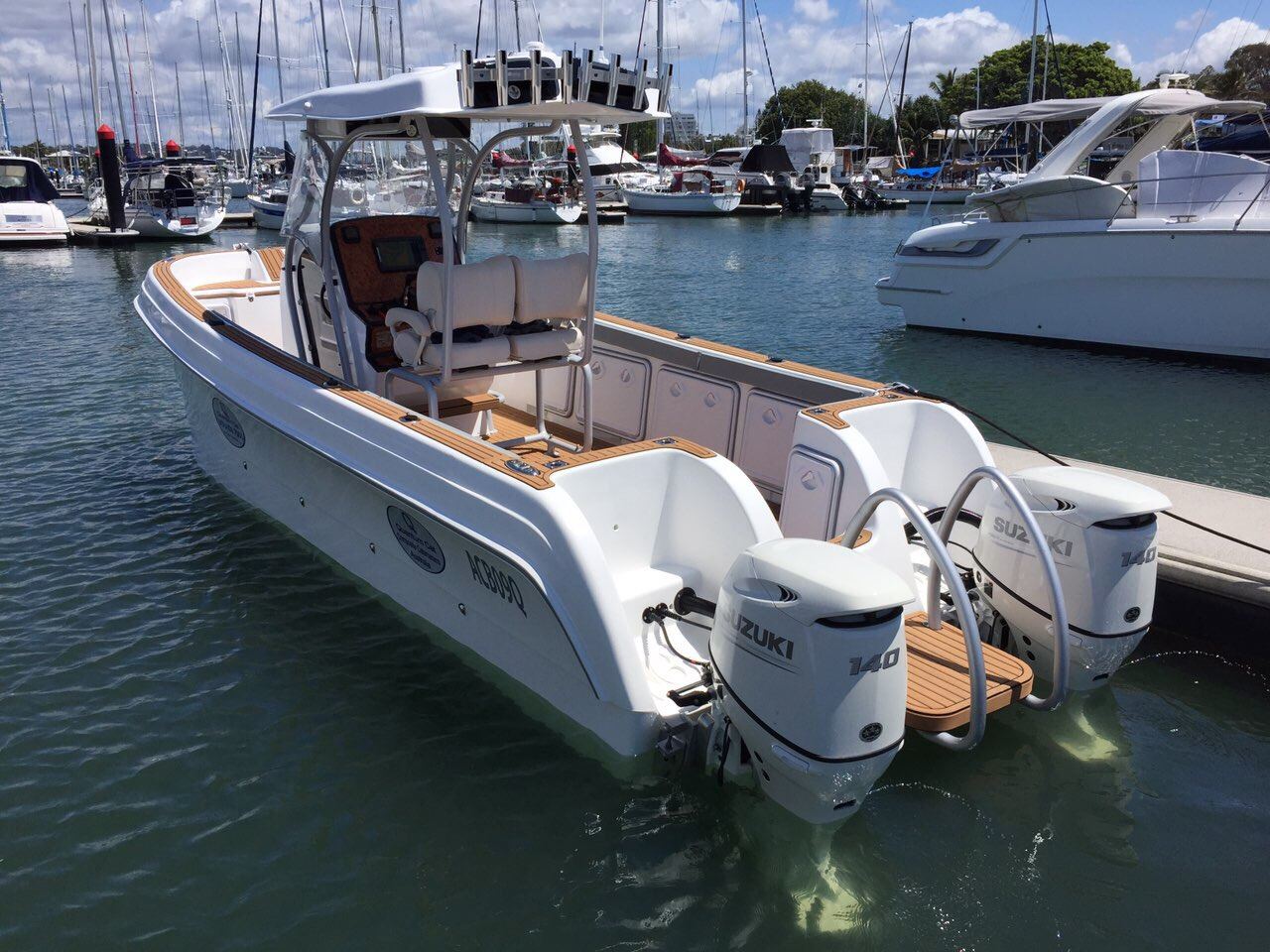 QCat Mirage 7000 On The Water