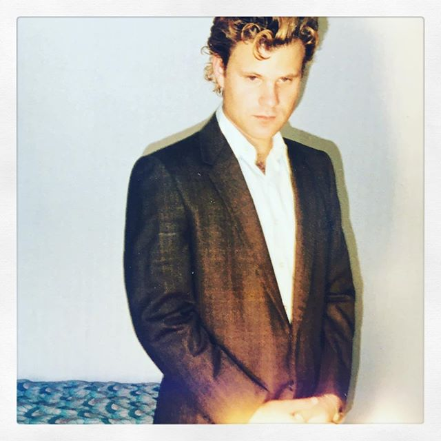 #tbt To when I had an orange pompadour and posed new wave in lonely hotel rooms... Please join this gent at The Pines this Saturday at 9pm in celebration of a, uh, significant birthday. A veritable rogues gallery of the finest Catskill musicians will be taking a whack at the classic American Hippie Hillbilly Songbook (Willie, Waylon, Neil, Van, Hank etc) as well as a few custom fit Maplewood, Two Dark Birds & Don Piper songs. Come hang! - - - With @heavyfeatherroastco @catskillpines @goathousestudio @mrchampale @theotherjude @paulrweil @elfnest @joshroybrown @pjcbot