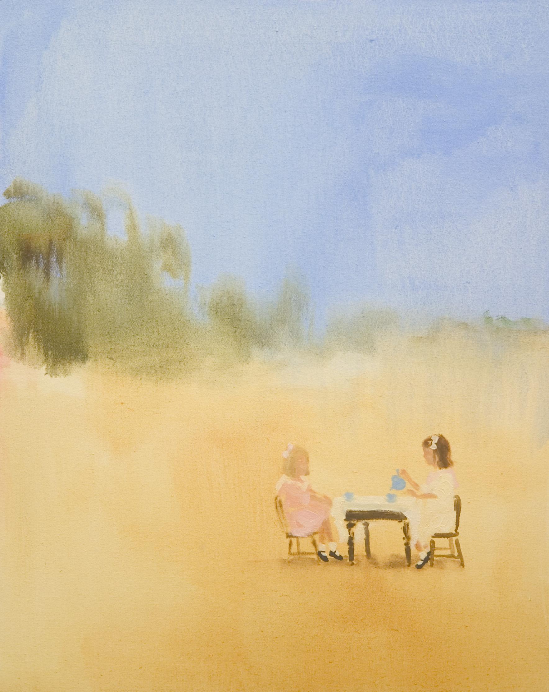 Painted Room (summertime tea)  oil on canvas  20 x 16in JPG.jpg