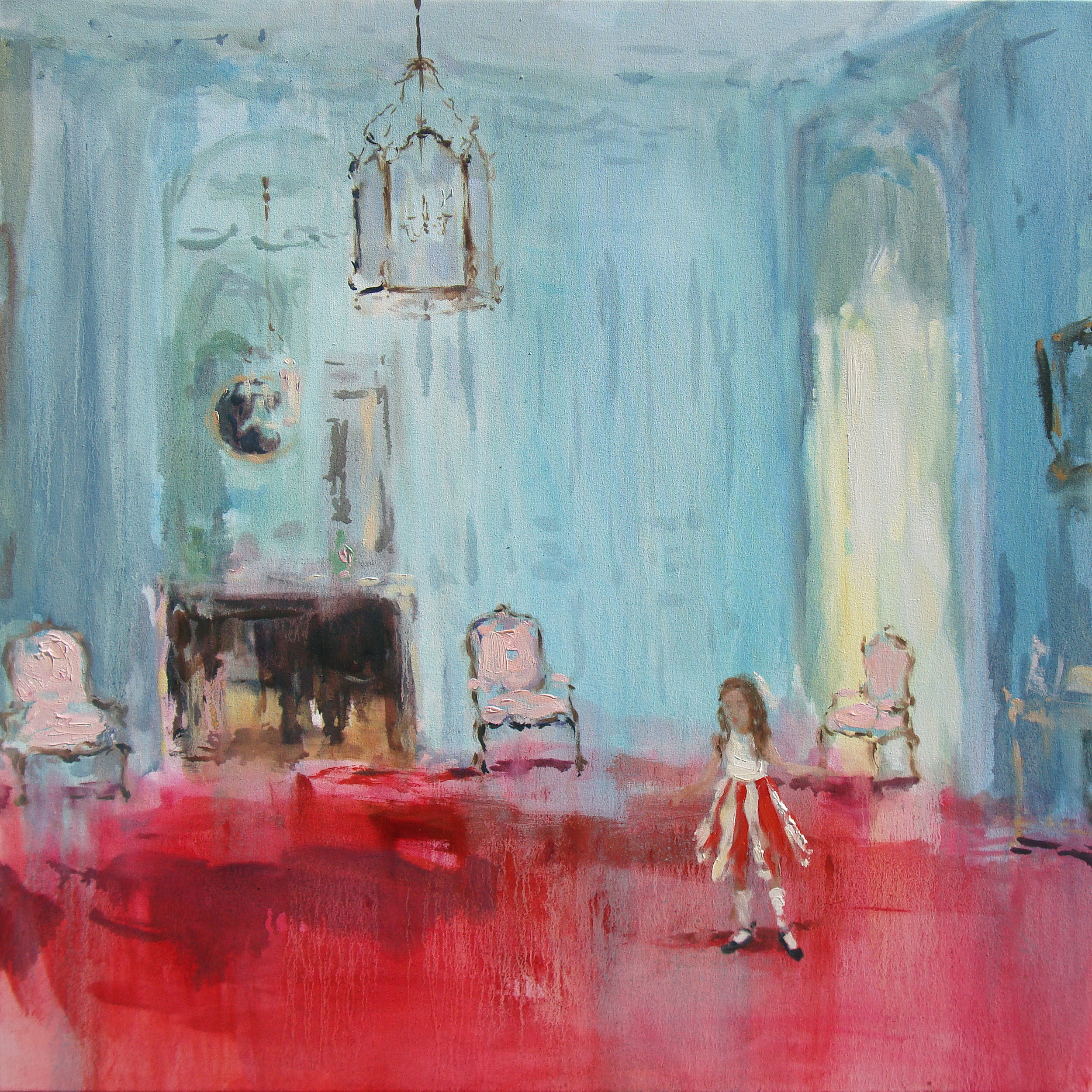 Vintage Suite (it was meant to be) 42 x 32 in. oil on canvas 2011