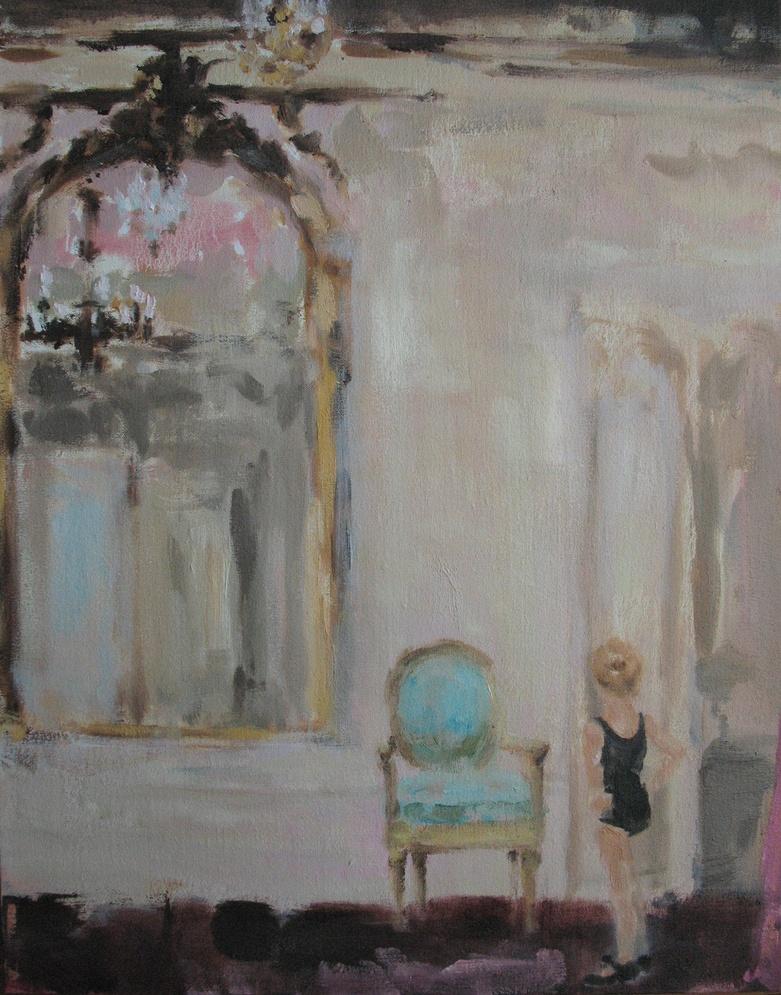 Velvet Carousel (tap) 14 x 11 in. oil on linen  2010