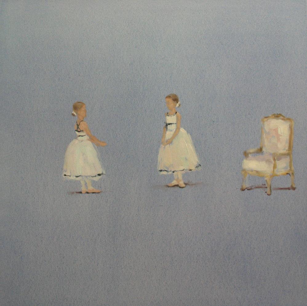 Velvet Carousel (ballet) 24 x 24 in. oil on canvas 2010