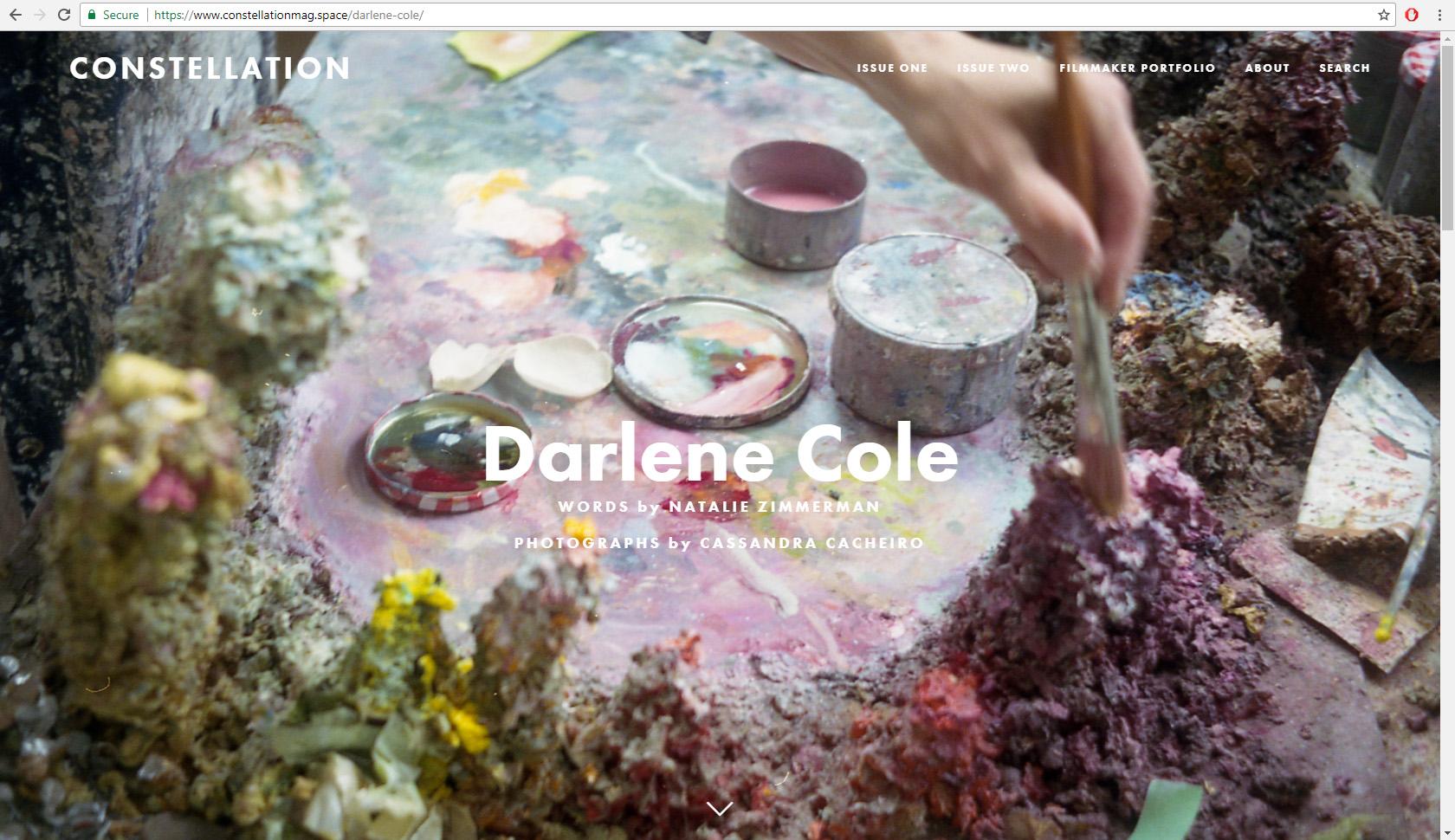 Constellation Magazine Darlene cole.jpg