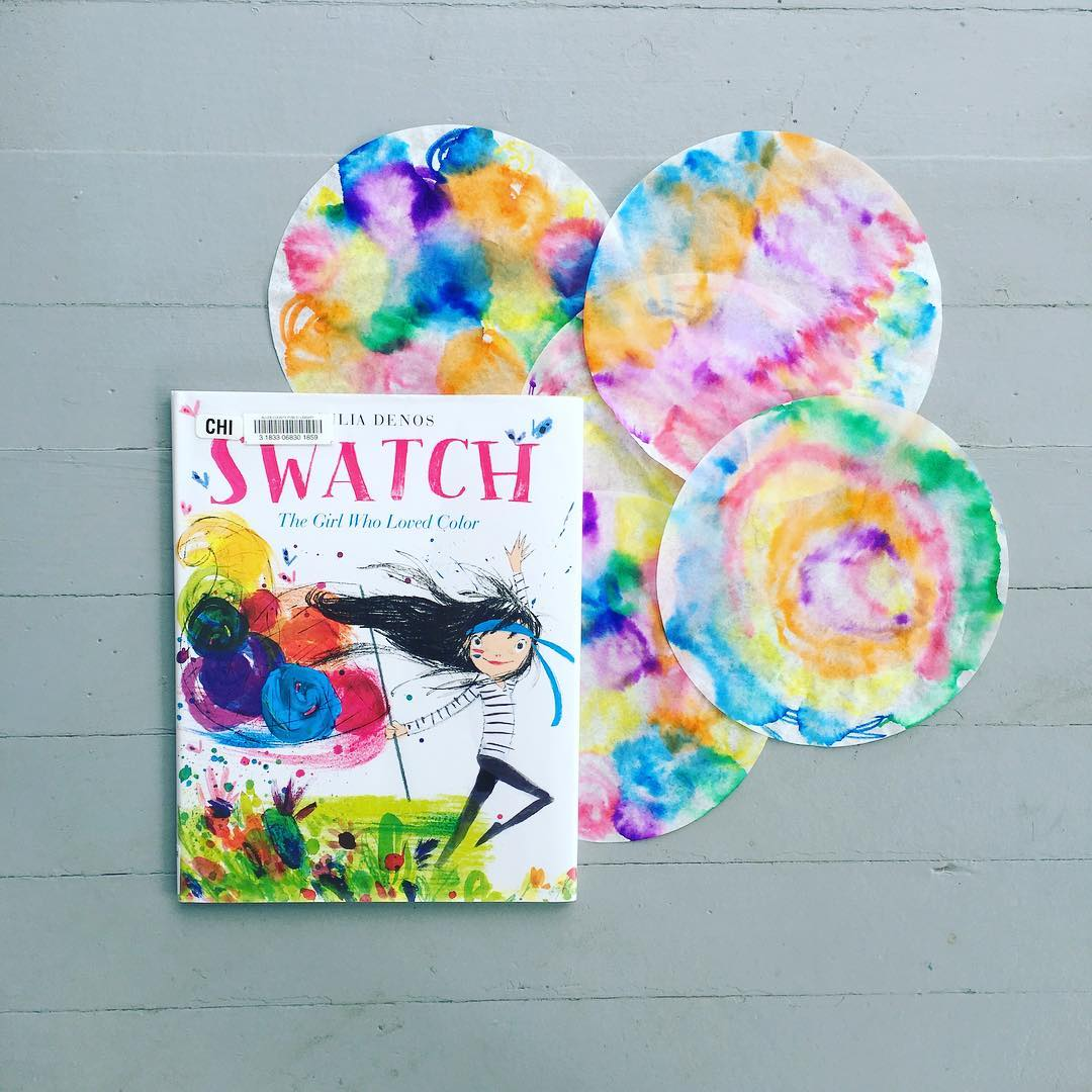 Swatch: The Girl Who Loved Color  by Julia Denos