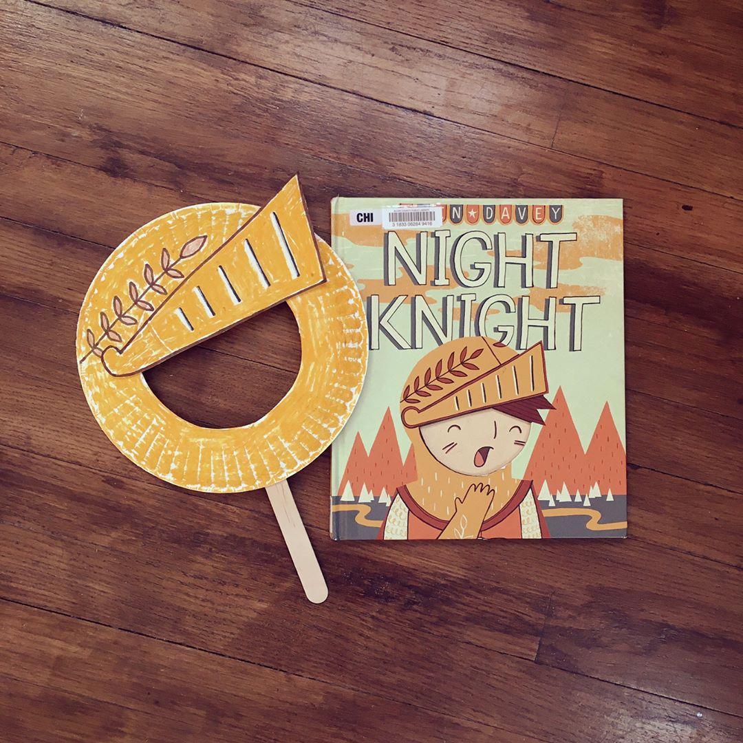 Night Knight  by Owen Davey