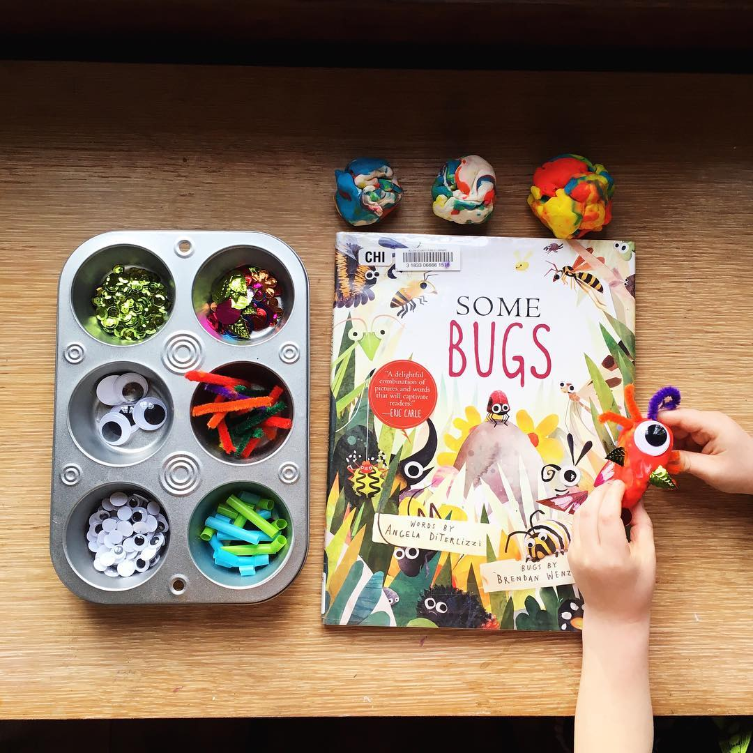 Some Bugs by Angela DiTerlizzi illustrated by Brendan Wenzel