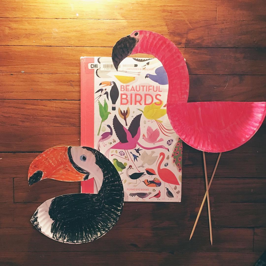 Beautiful Birds by Jean Roussen and Emmanuelle Walker