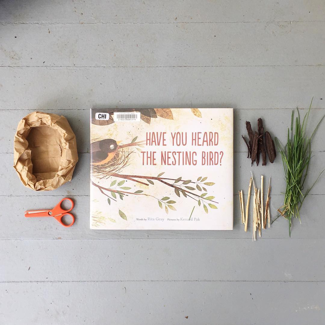 Have You Heard the Nesting Bird? by Rita Gray illustrated by Kenard Pak