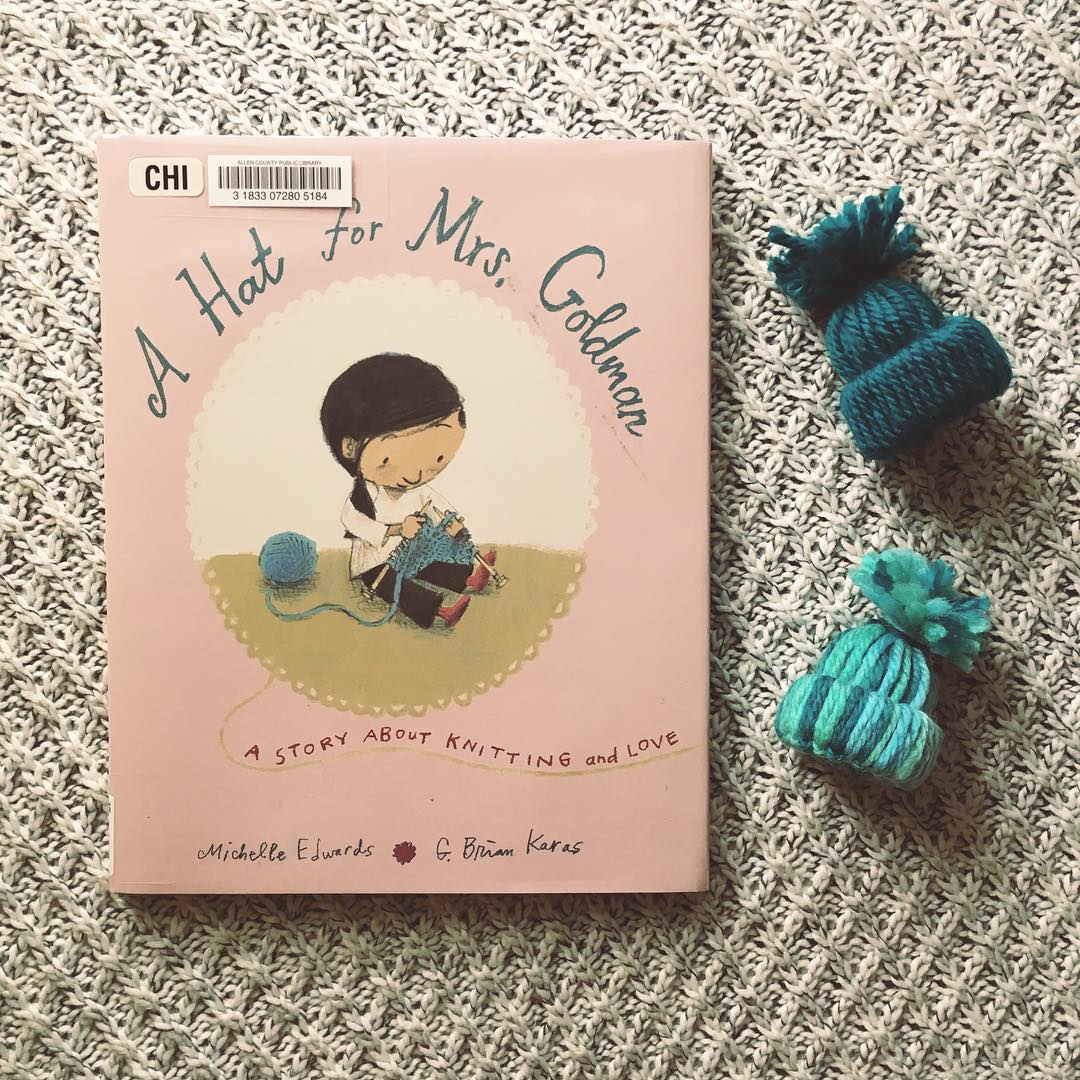 A Hat for Mrs. Goldman: A Story about Knitting and Love  by Michelle Edwards and G. Brian Karas
