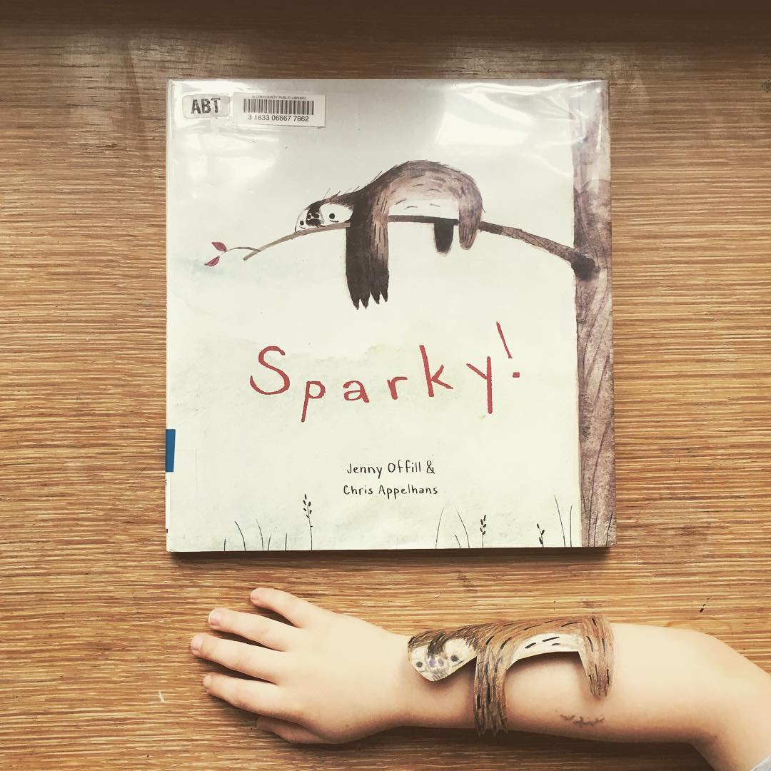 Sparky  by Jenny Offill and Chris Appelhans