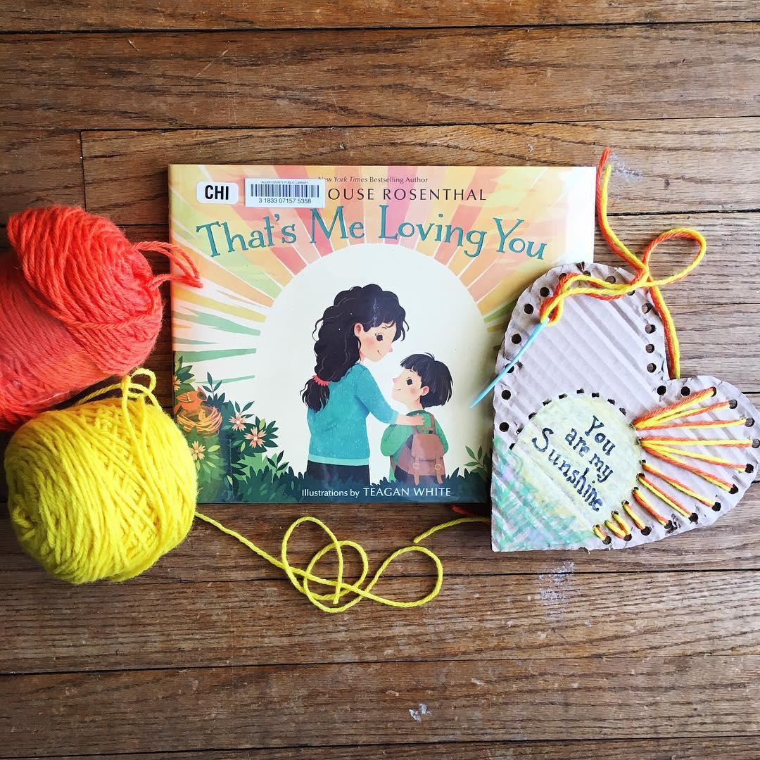 That's Me Loving You  by Amy Krouse Rosenthal illustrated by Teagan White