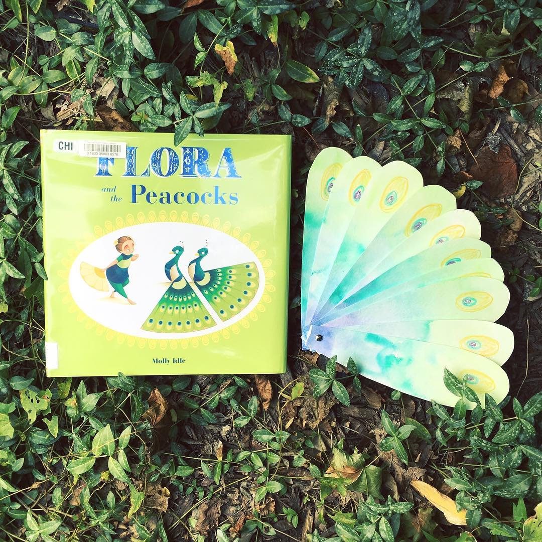 Flora and the Peacocks  by Molly Idle  An excellent way to discuss jealousy