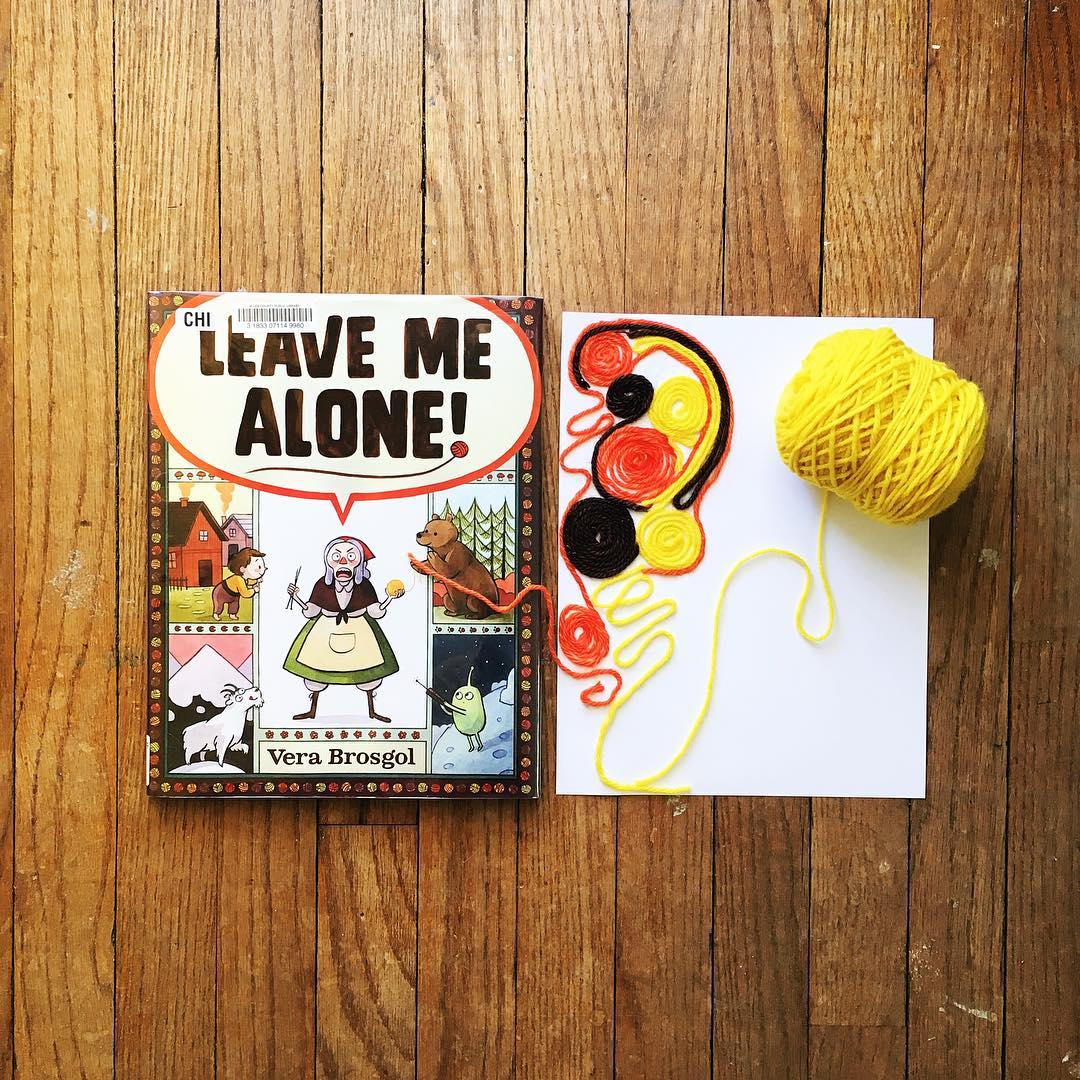 Leave Me Alone! by Vera Brosgol  Sometimes we all need a little alone time!