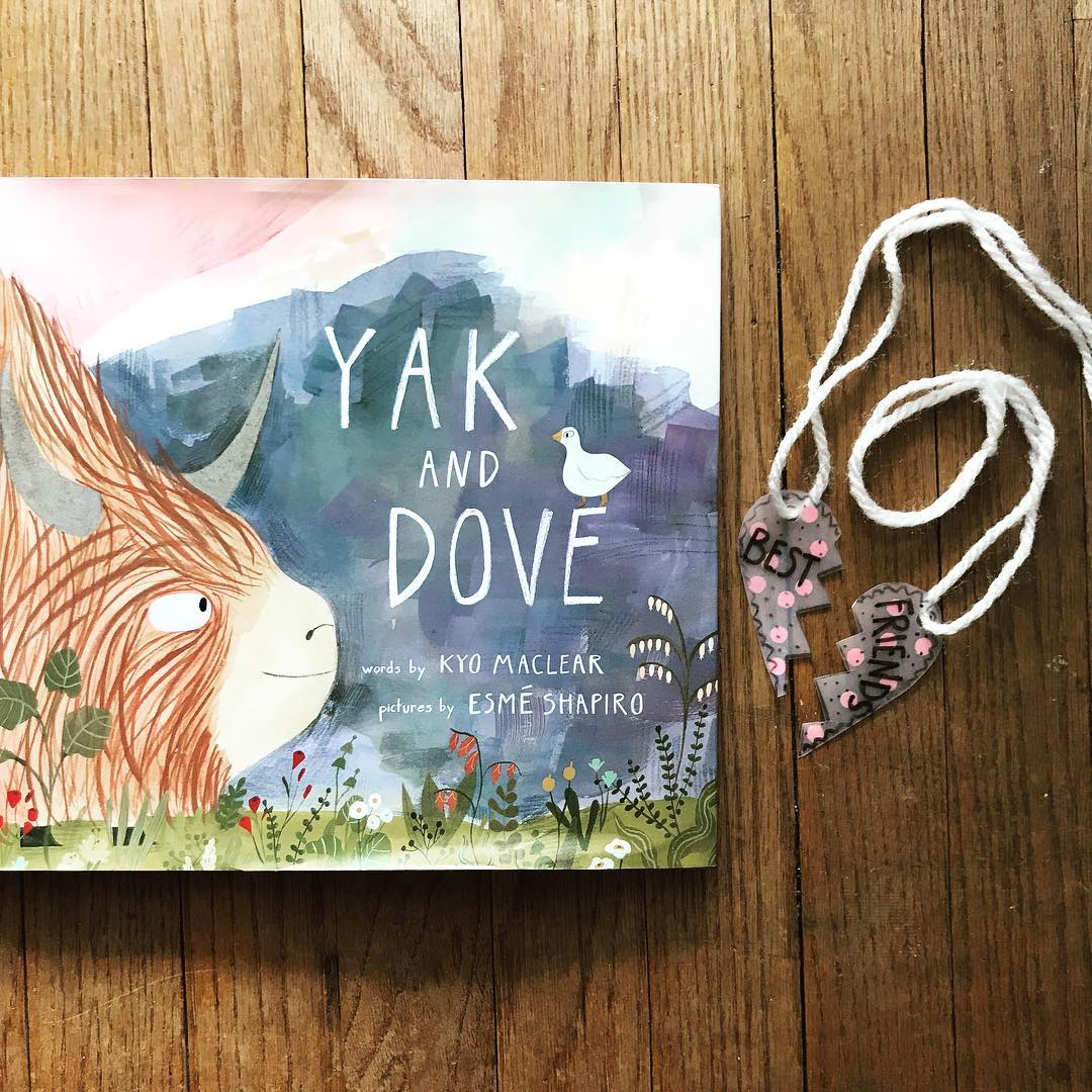 Yak and Dove  by Kyo Maclear illustrated by Esme Shapiro