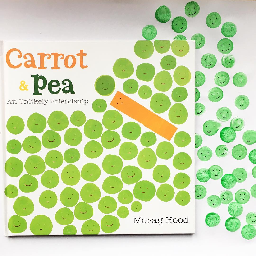 Carrot and Pea: An Unlikely Friendship