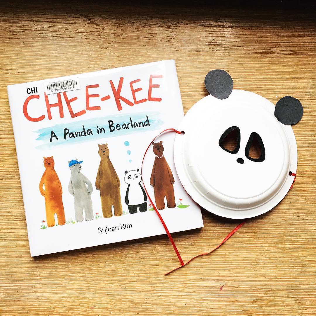 Chee-Kee: A Panda in Bearland  by Sujean Rim