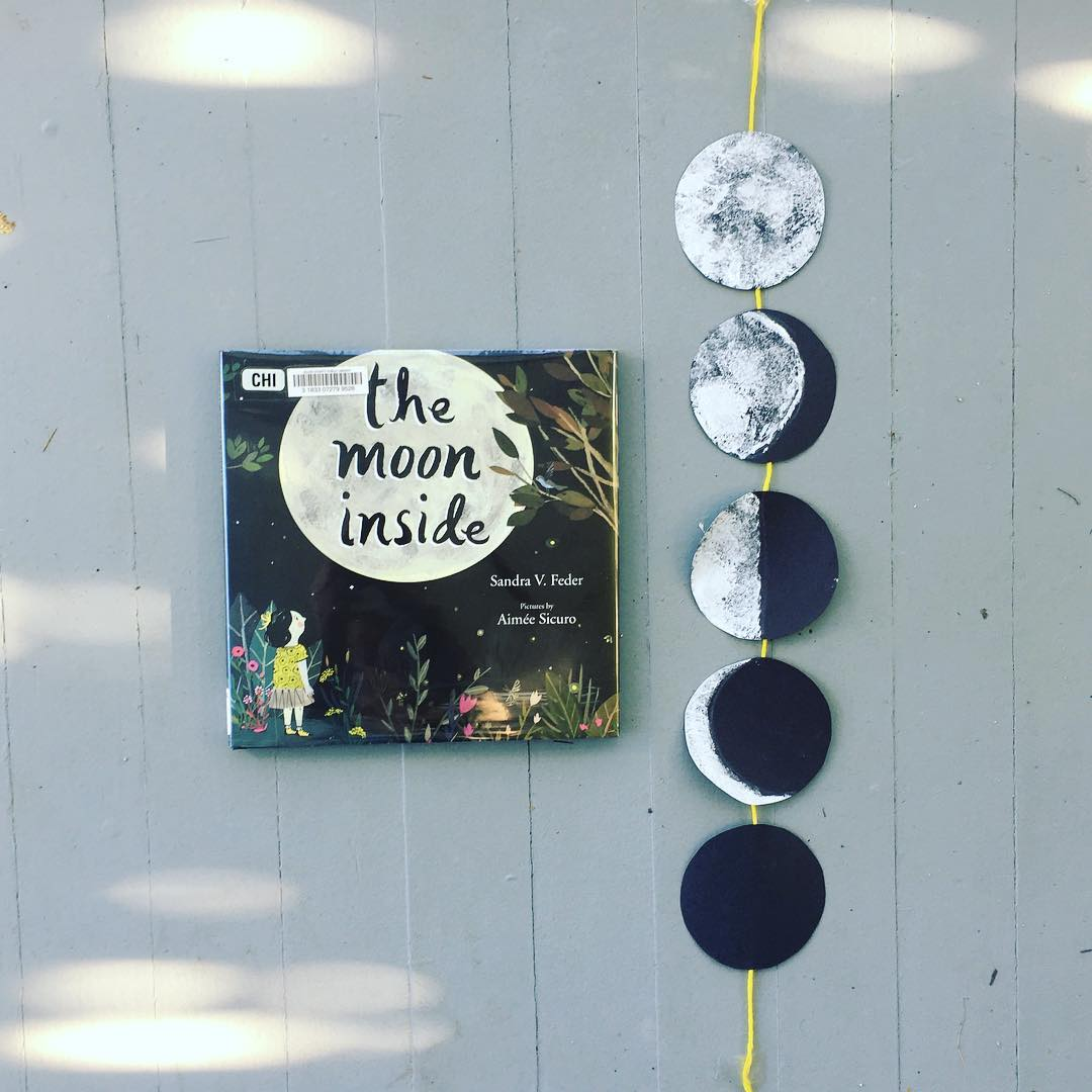 The Moon Inside  by Sandra V. Feder illustrated by Aimee Sicuro