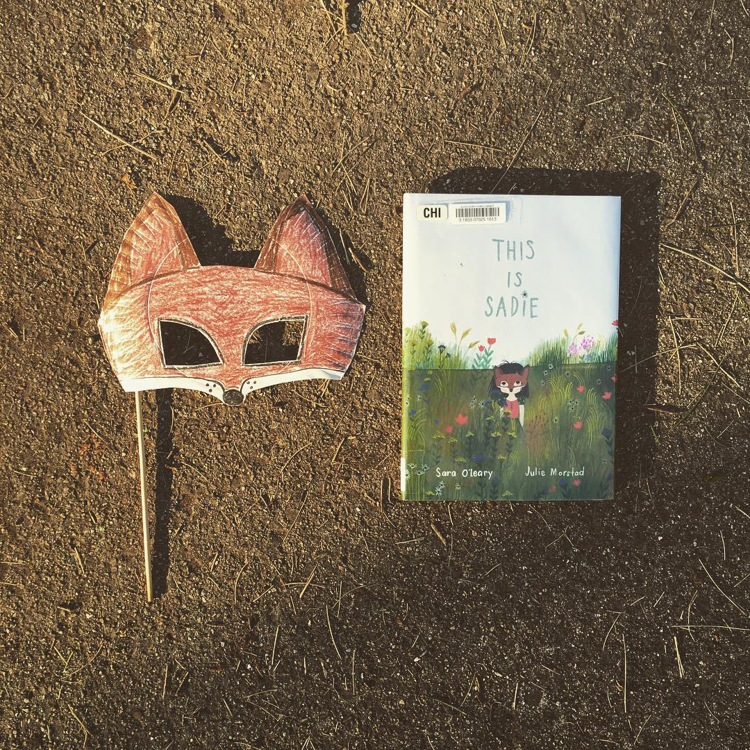 This is Sadie by Sara O'Leary illustrated by Julie Morstad