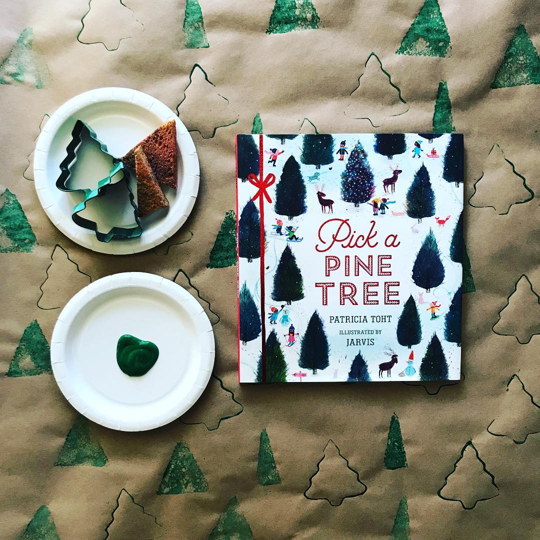 Pick a Pine Tree  by Patricia Toht illustrated by Jarvis