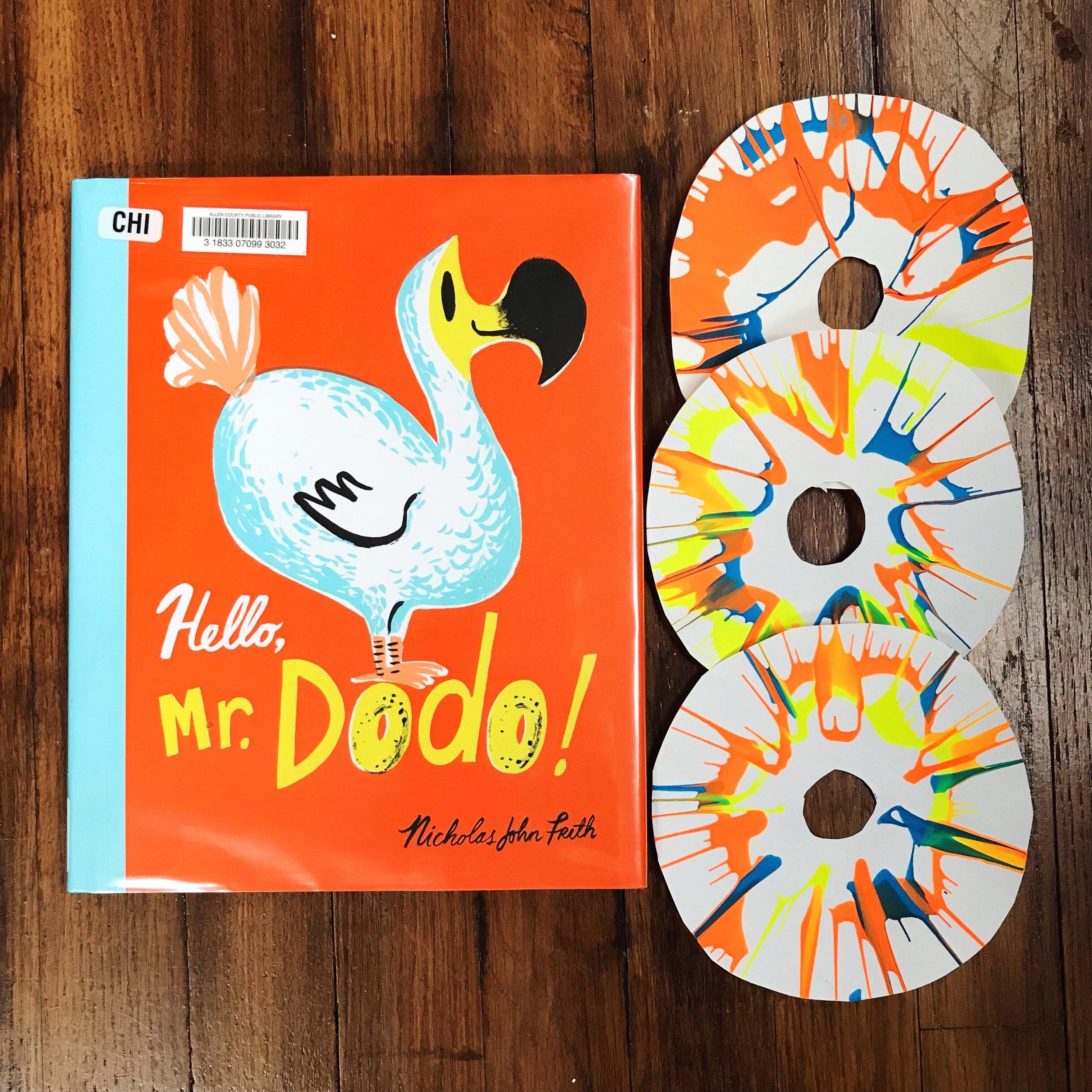 Hello, Mr. Dodo!  by Nicholas John Frith