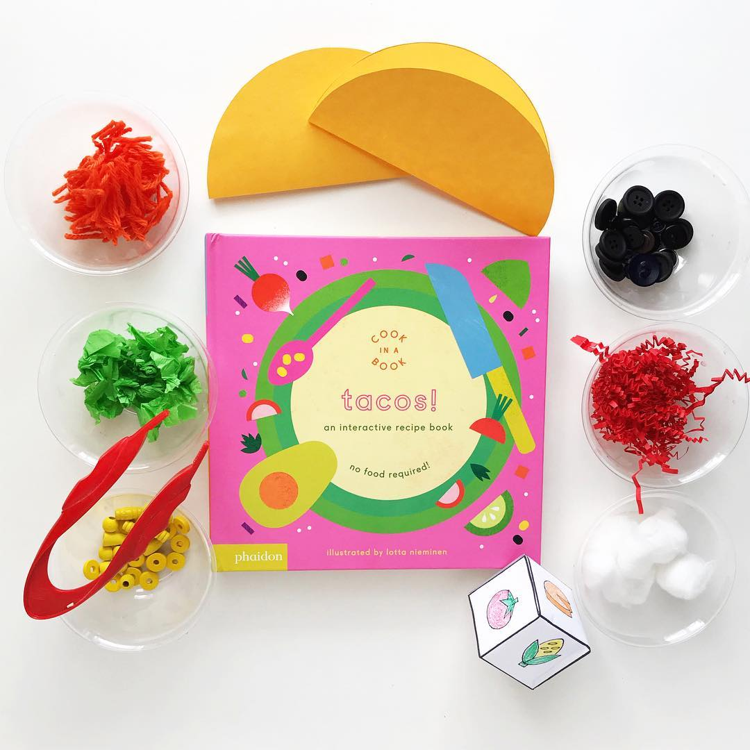 Tacos! An Interactive Recipe Book  by Lotta Nieminen