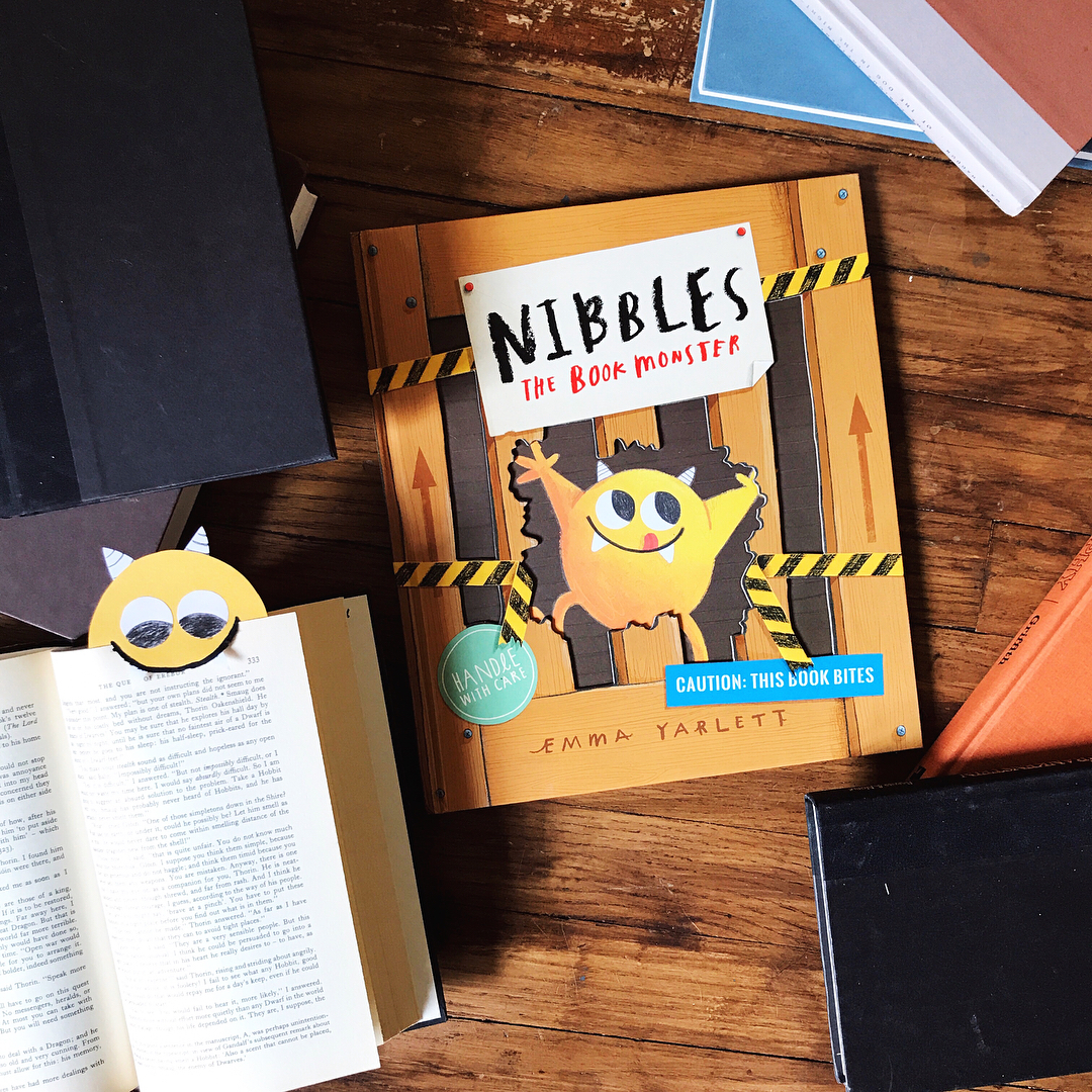 Nibbles the Book Monster  by Emma Yarlett