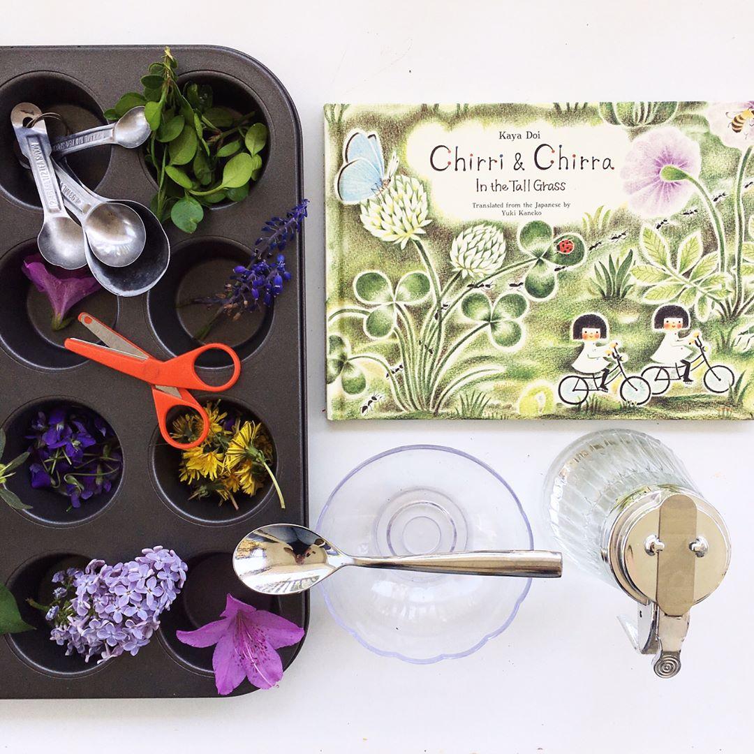 Chirri and Chirra in the Tall Grass  by Kaya Doi