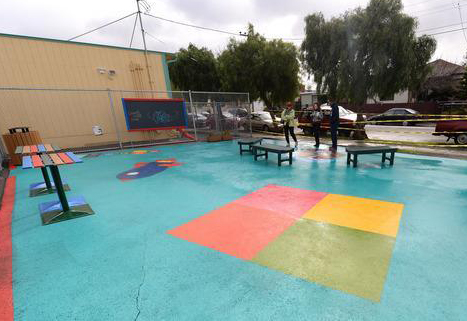 Richmond: New play area at Grant Elementary School -