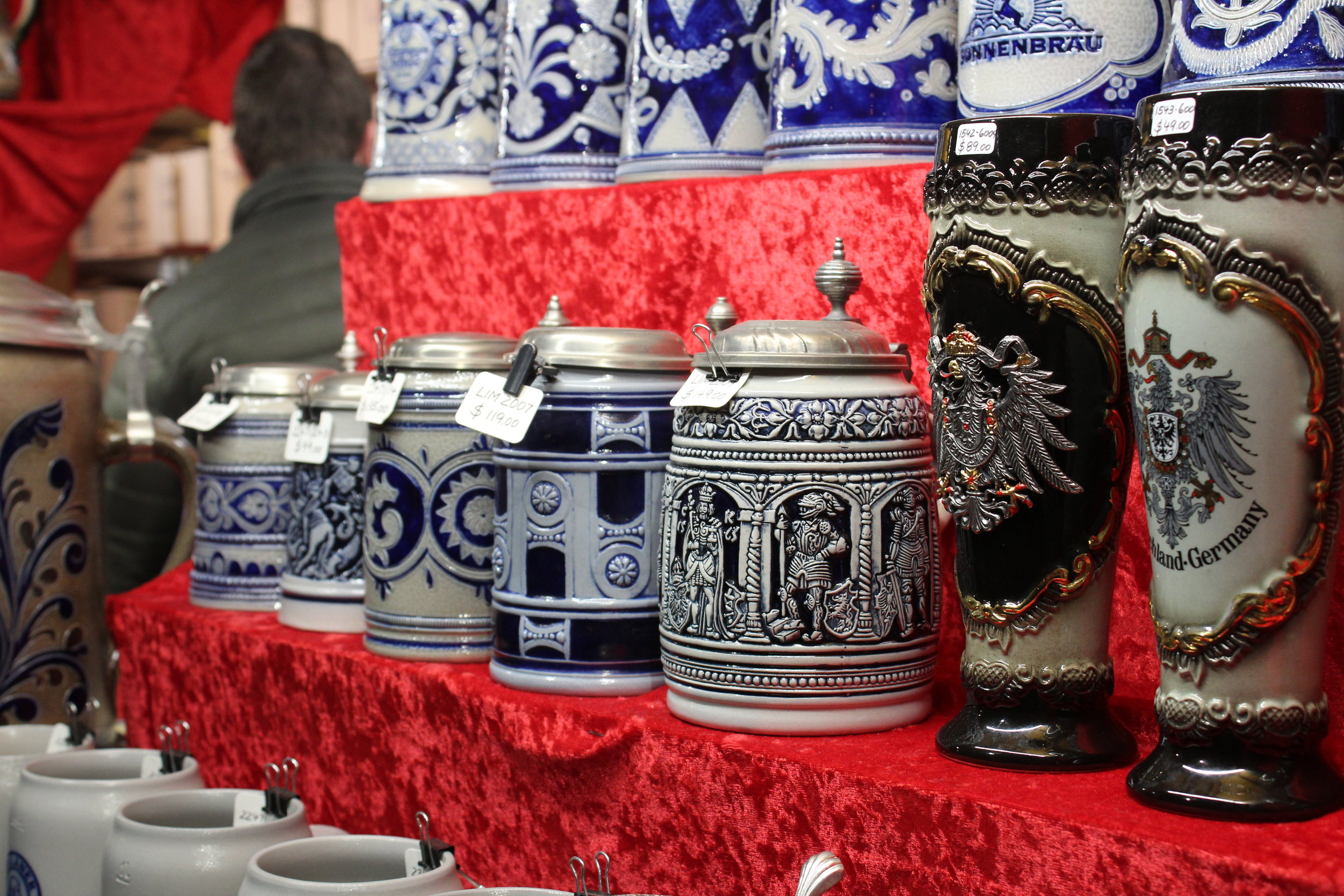 If beer stein is on your list, you can find a wide selection here!