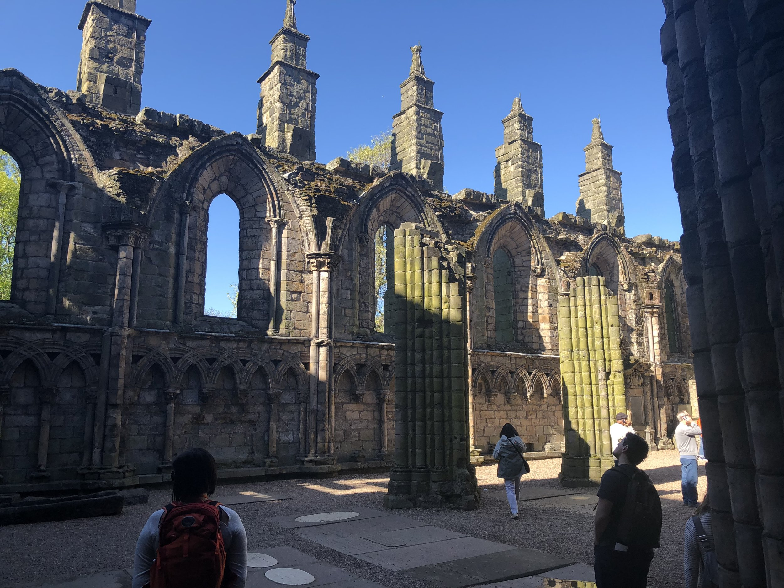 Ruins of Holyroodhouse Abbey