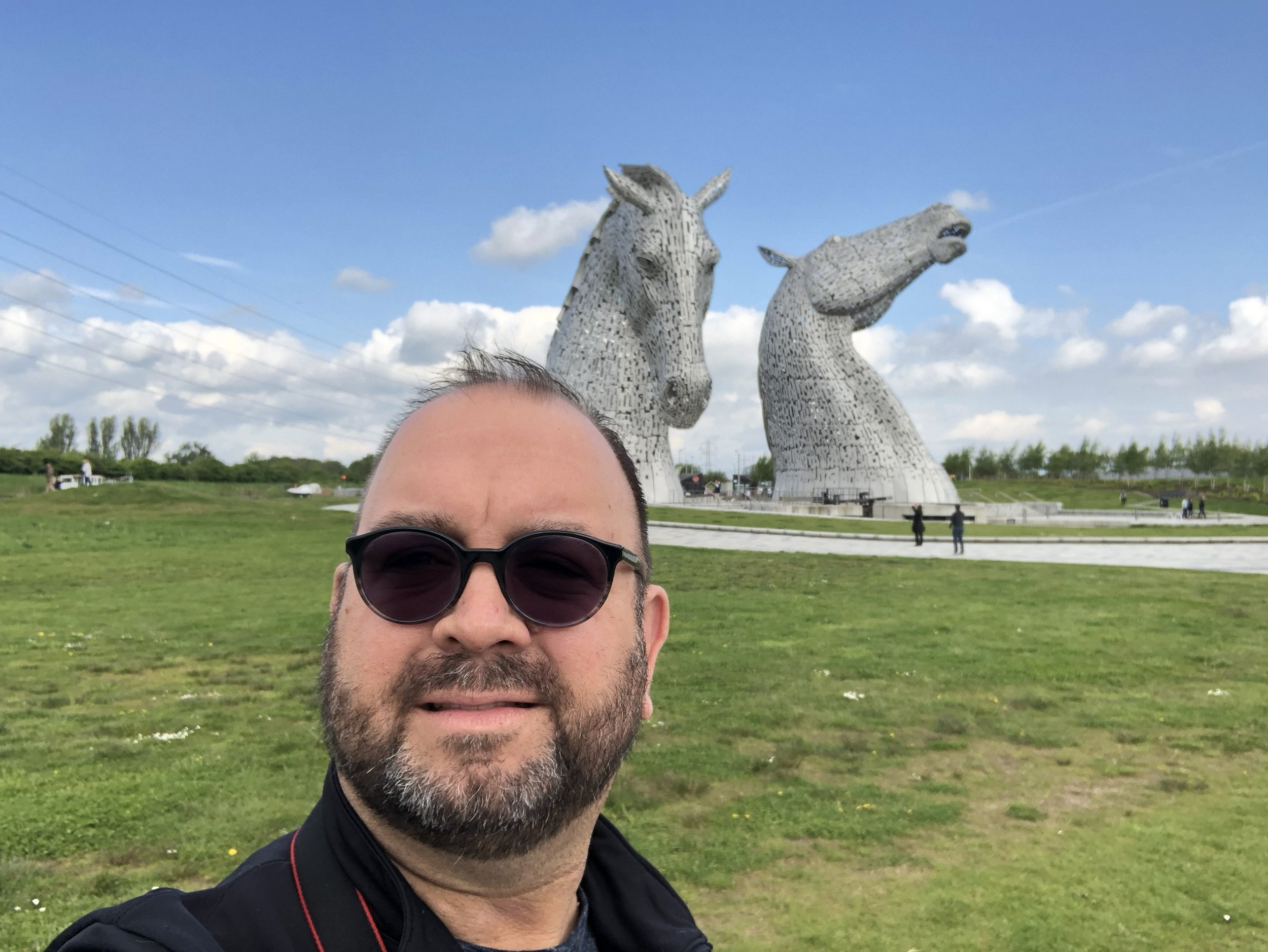 Roaming Rich at The Kelpies