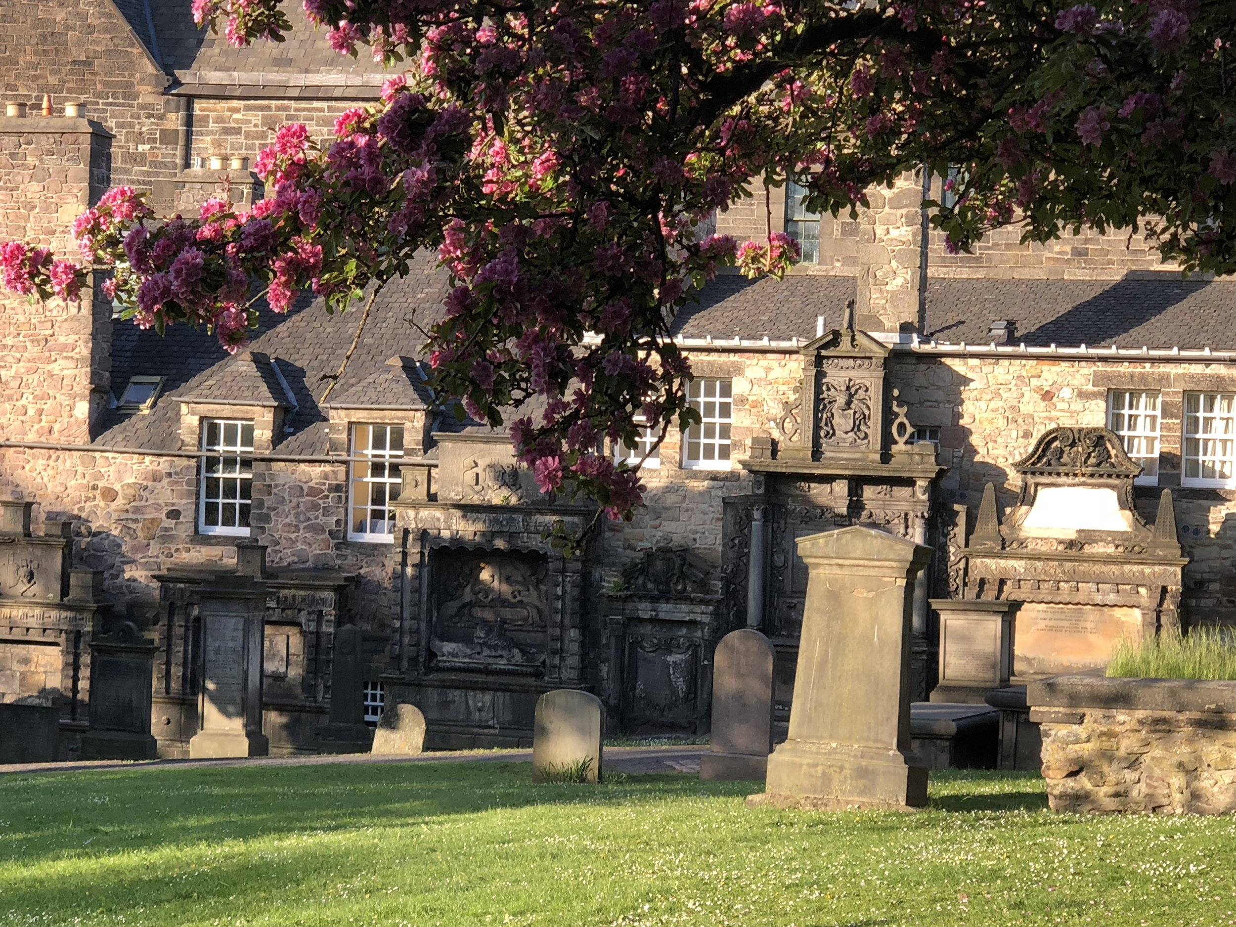 The Greyfriers Cemetery