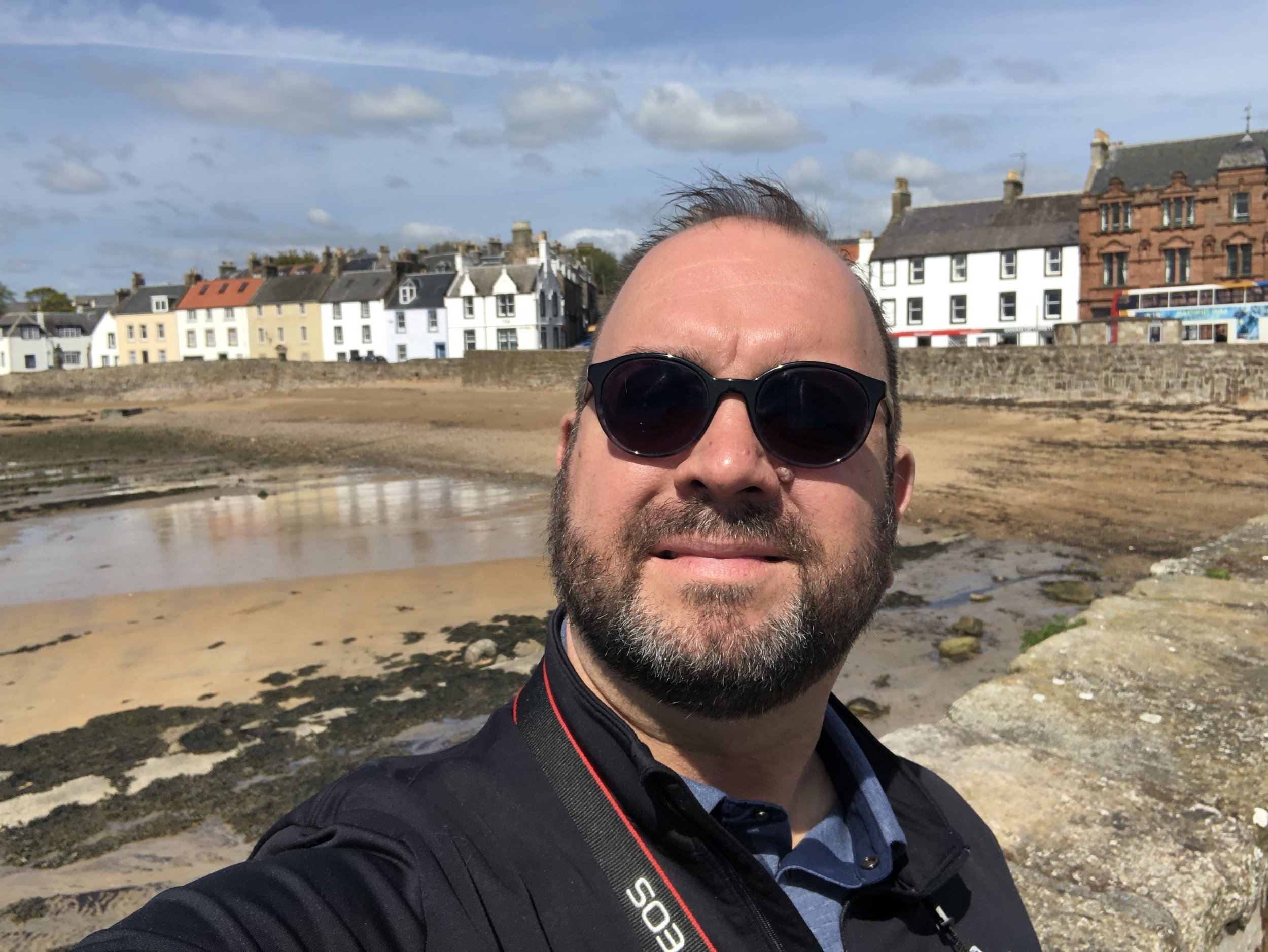Roaming Rich in Anstruther.