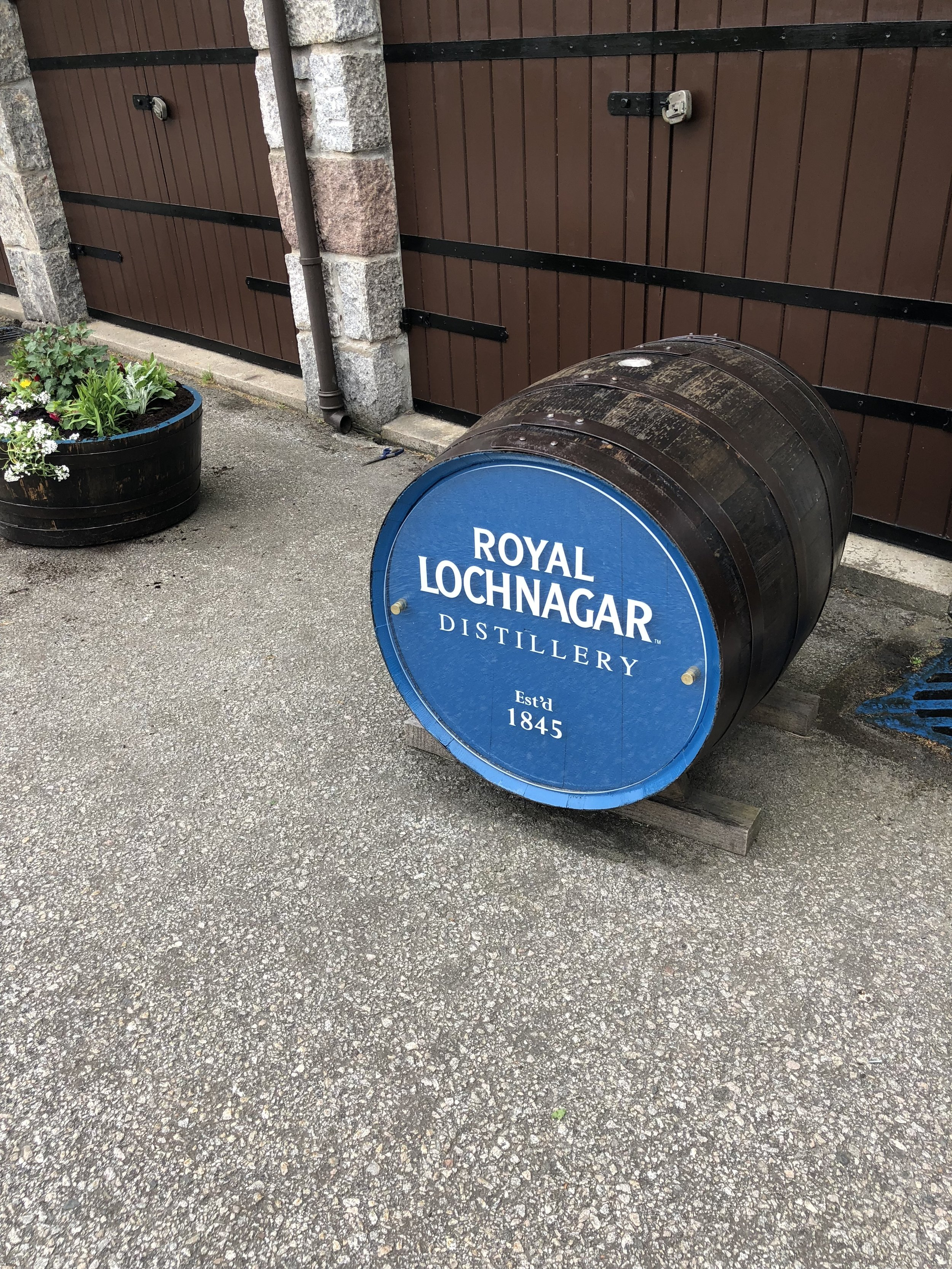 I also toured the Royal Lochnagar Distillery!