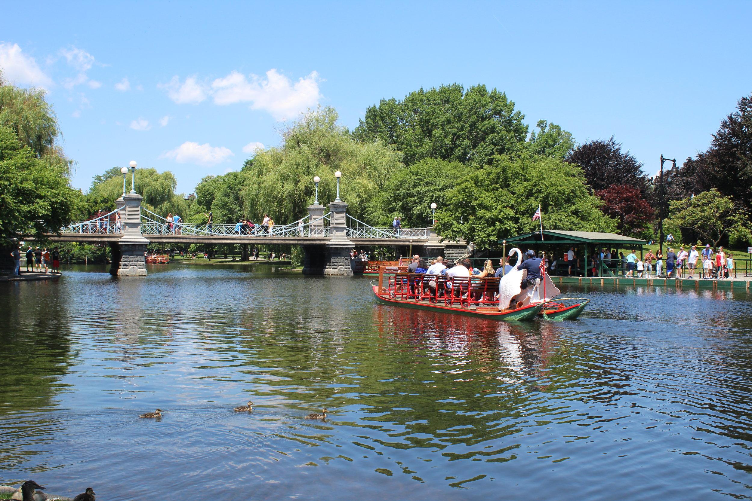 The Bridge in the Boston Garden