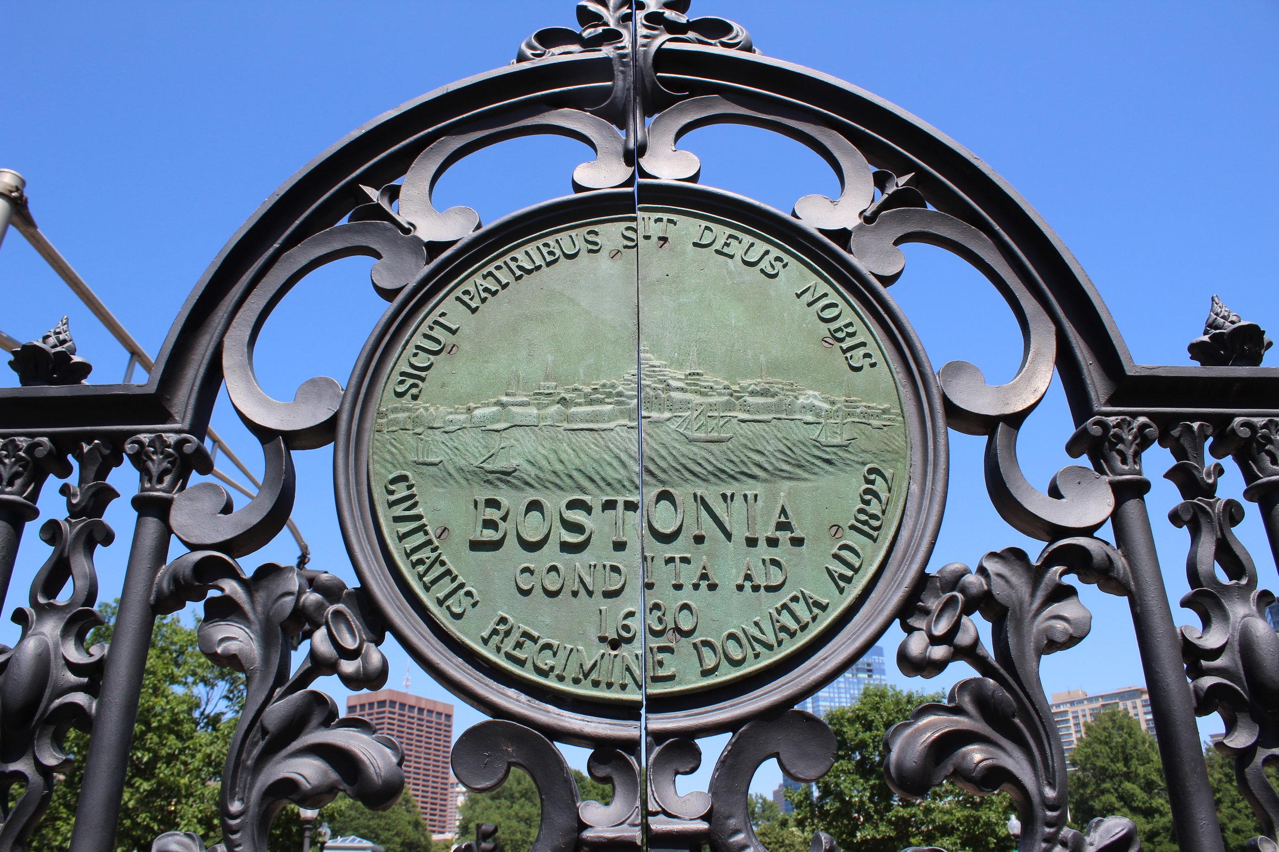The Gate to Boston Common