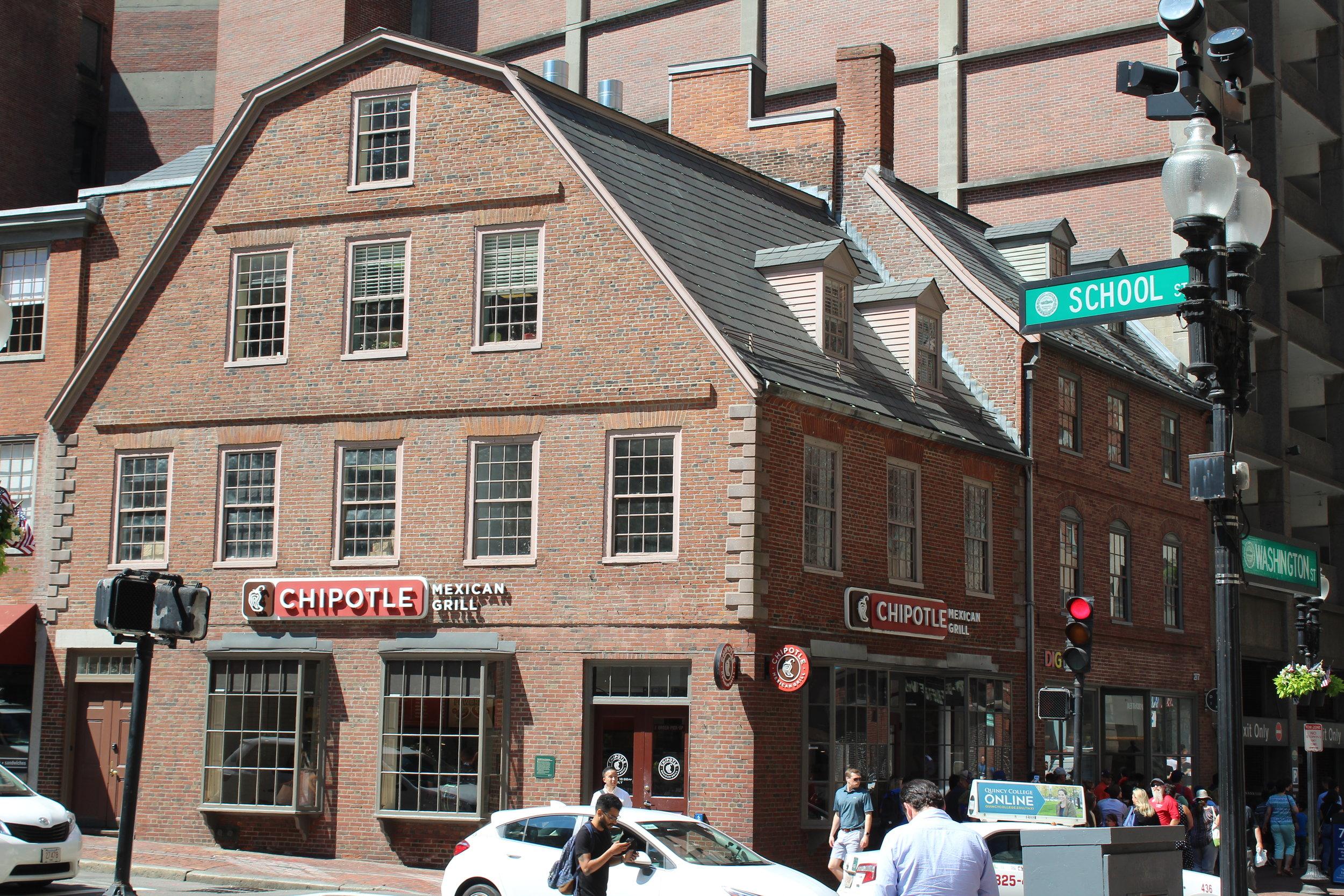 Old Corner Bookstore: Oldest Commercial Building