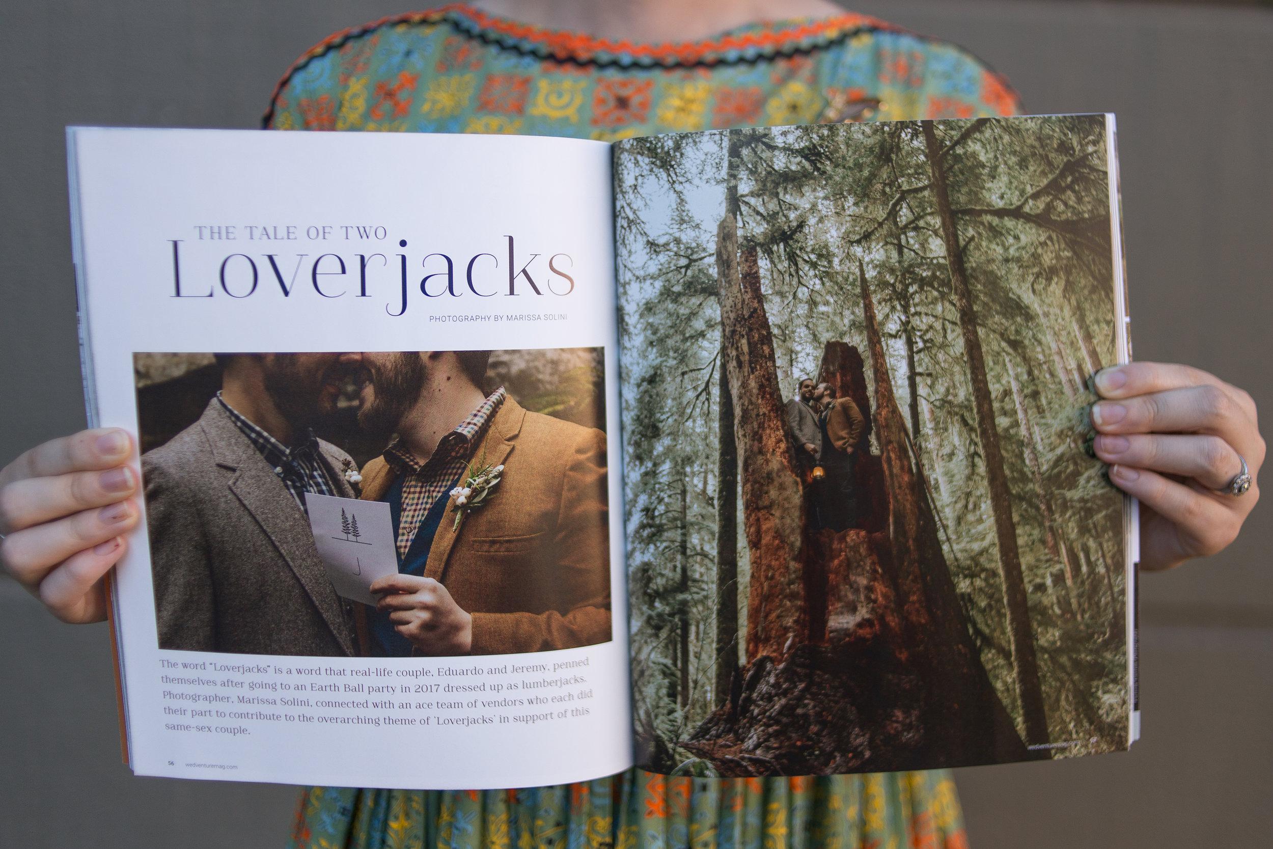 Wedventure Mag Oregon Forest Elopement