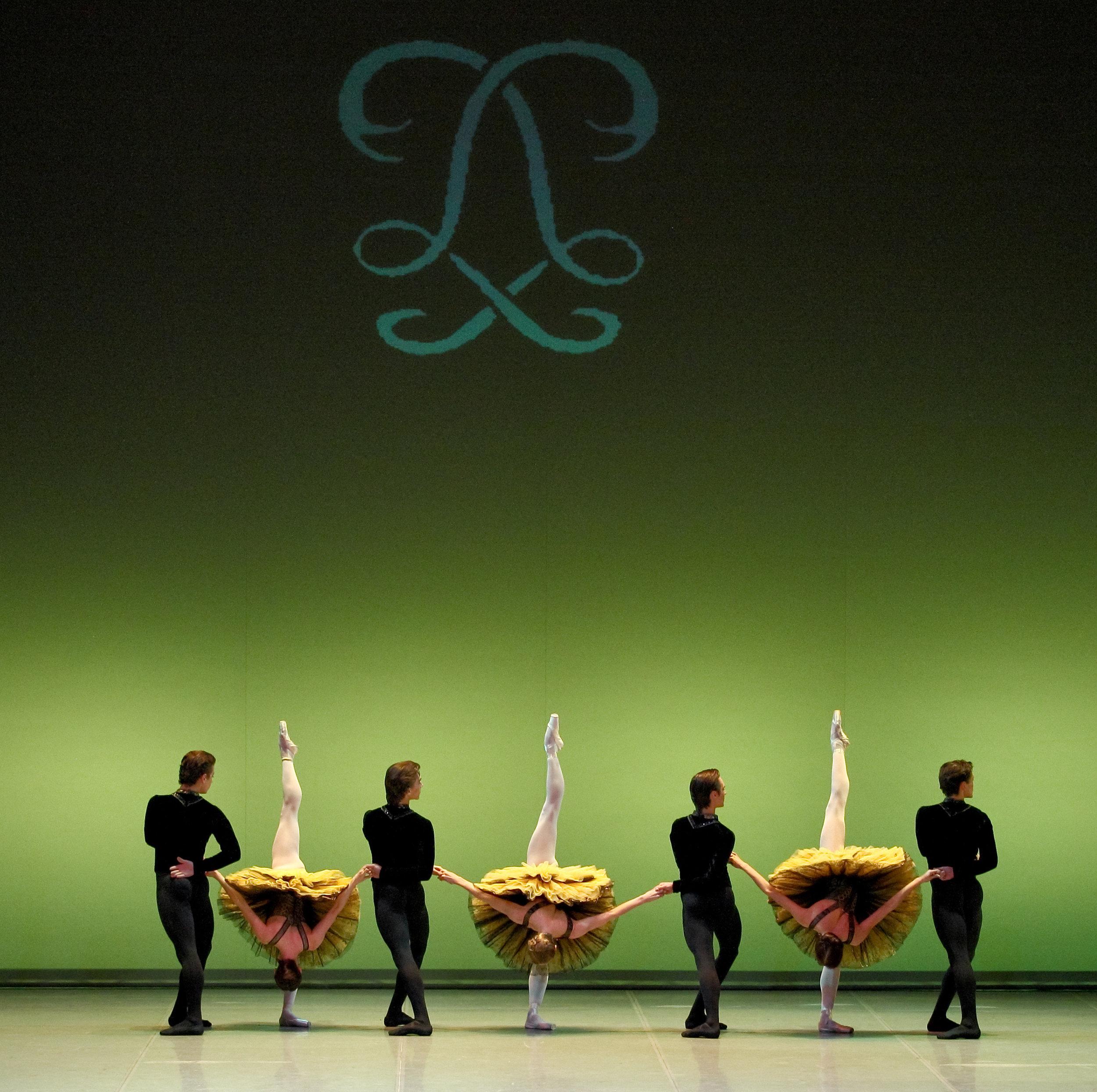 "PERM OPERA BALLET, ""Variation on a Rococo theme""  Photo by Anton Zaviyalov"