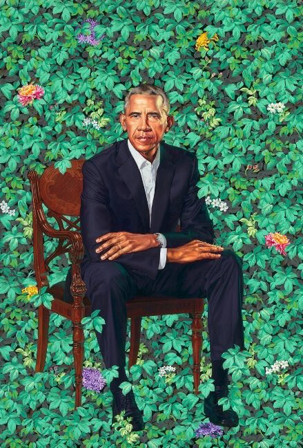President Obama - Taken by : Kehindle Wiley
